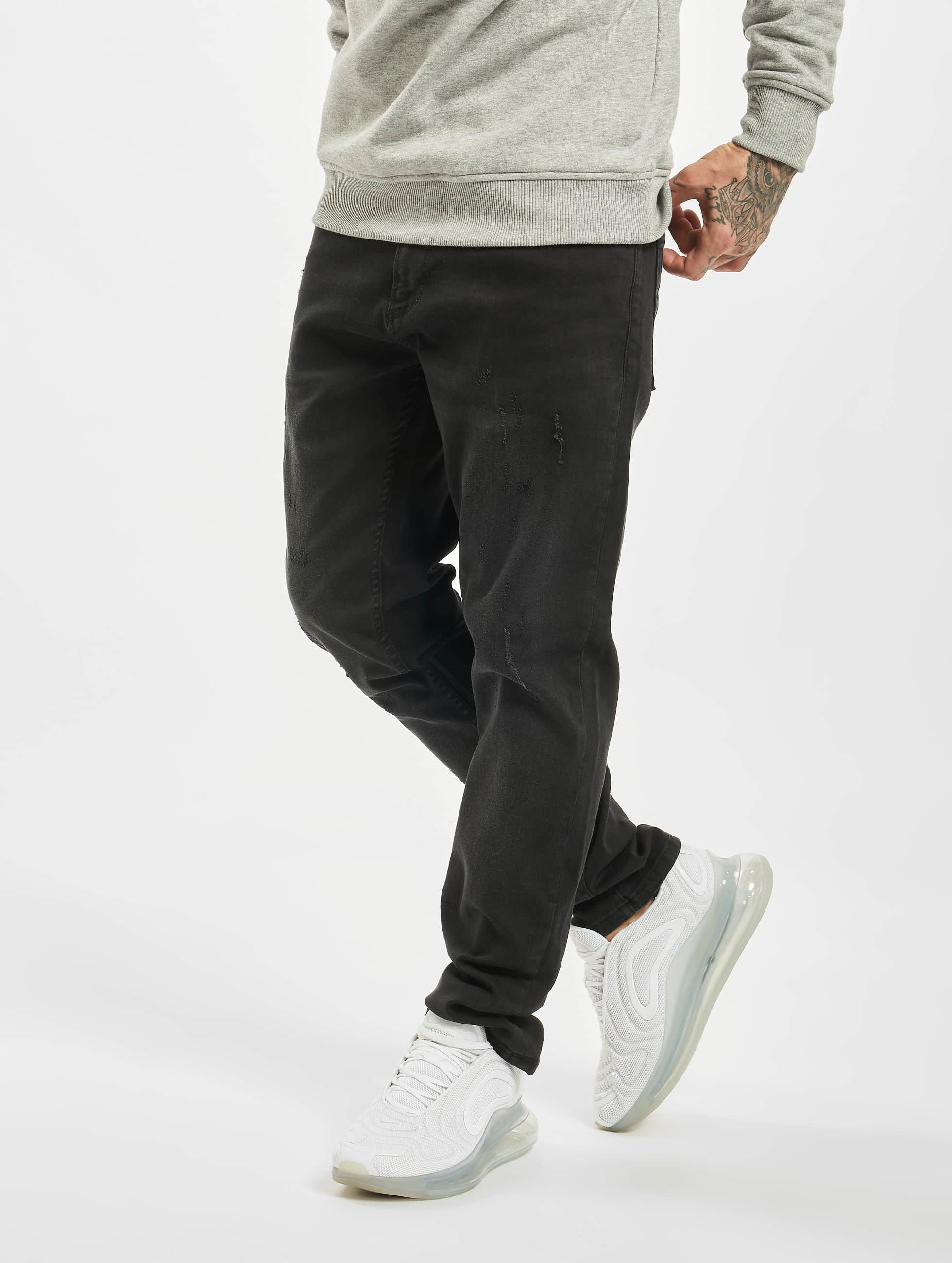 DEF / Slim Fit Jeans Tommy in black W 33 L 34