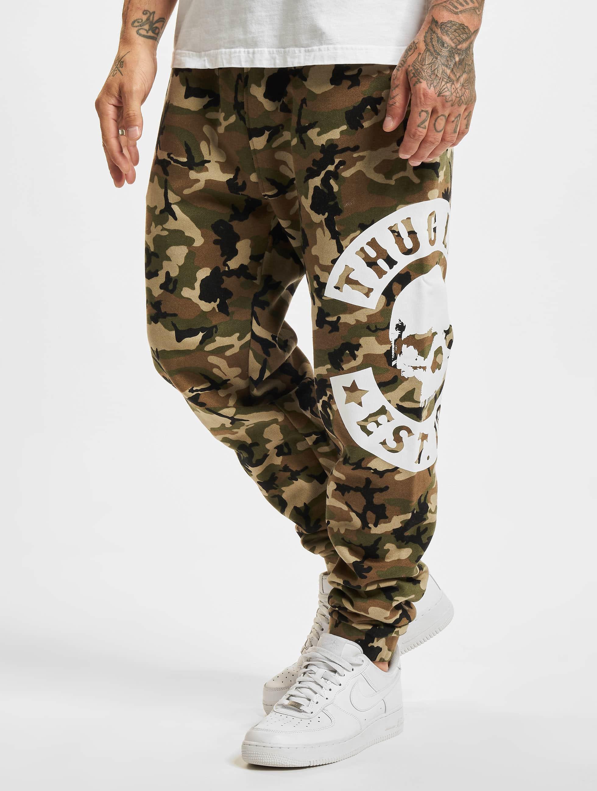 Thug Life / Sweat Pant B.Camo in camouflage 5XL
