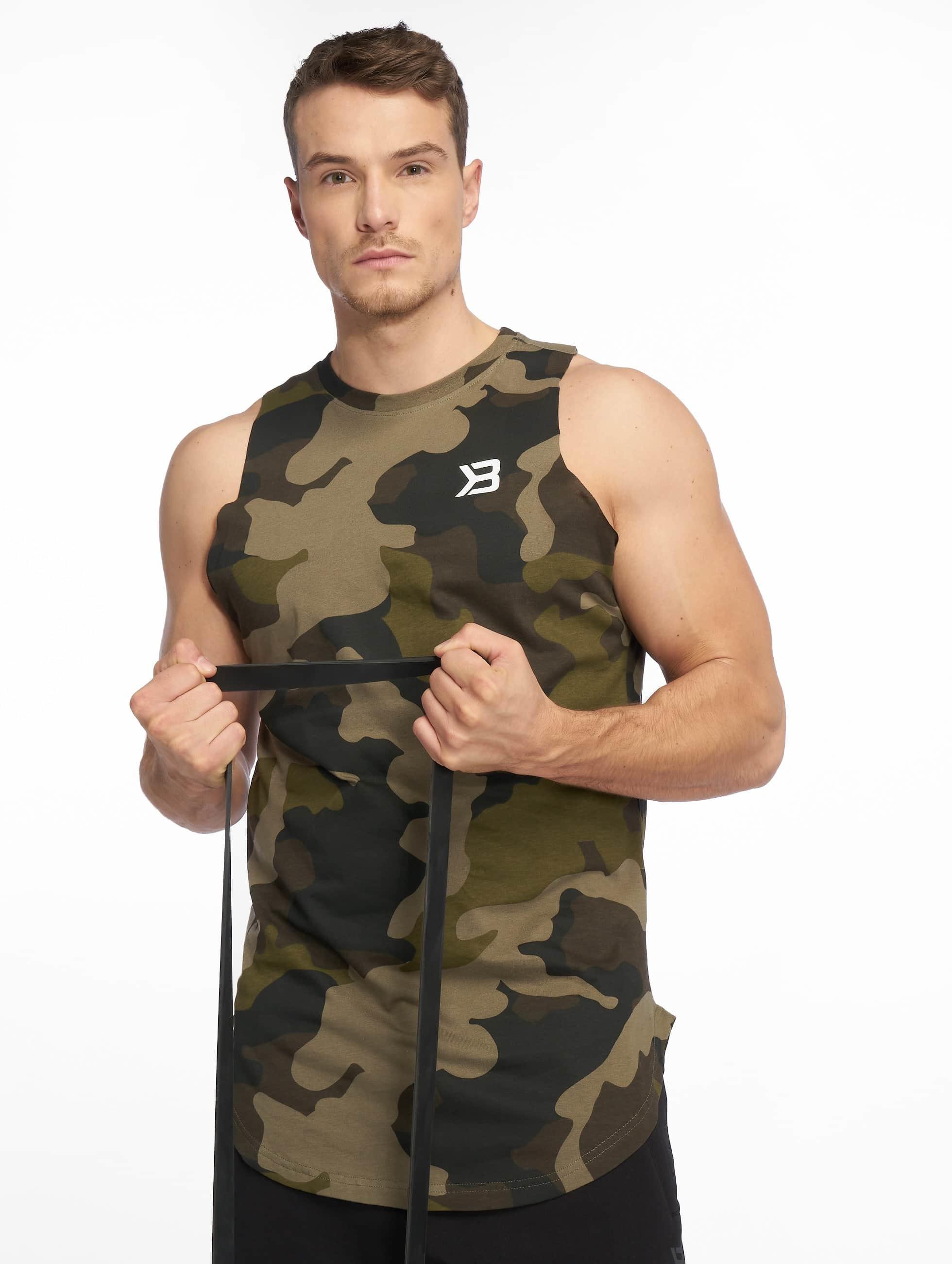 Better Bodies | Harlem  camouflage Homme Débardeur