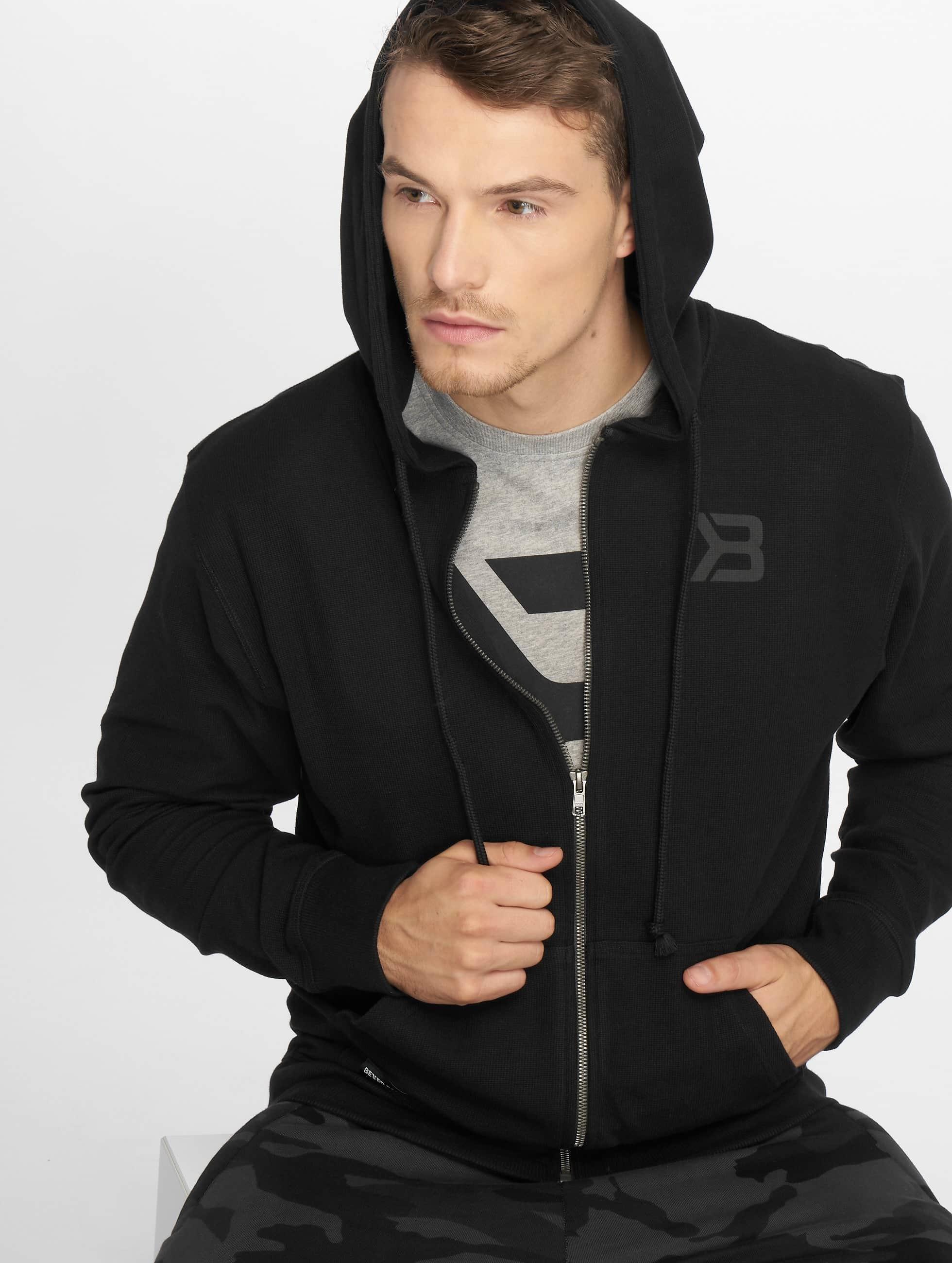 Better Bodies | Stanton noir Homme Sweat capuche zippé