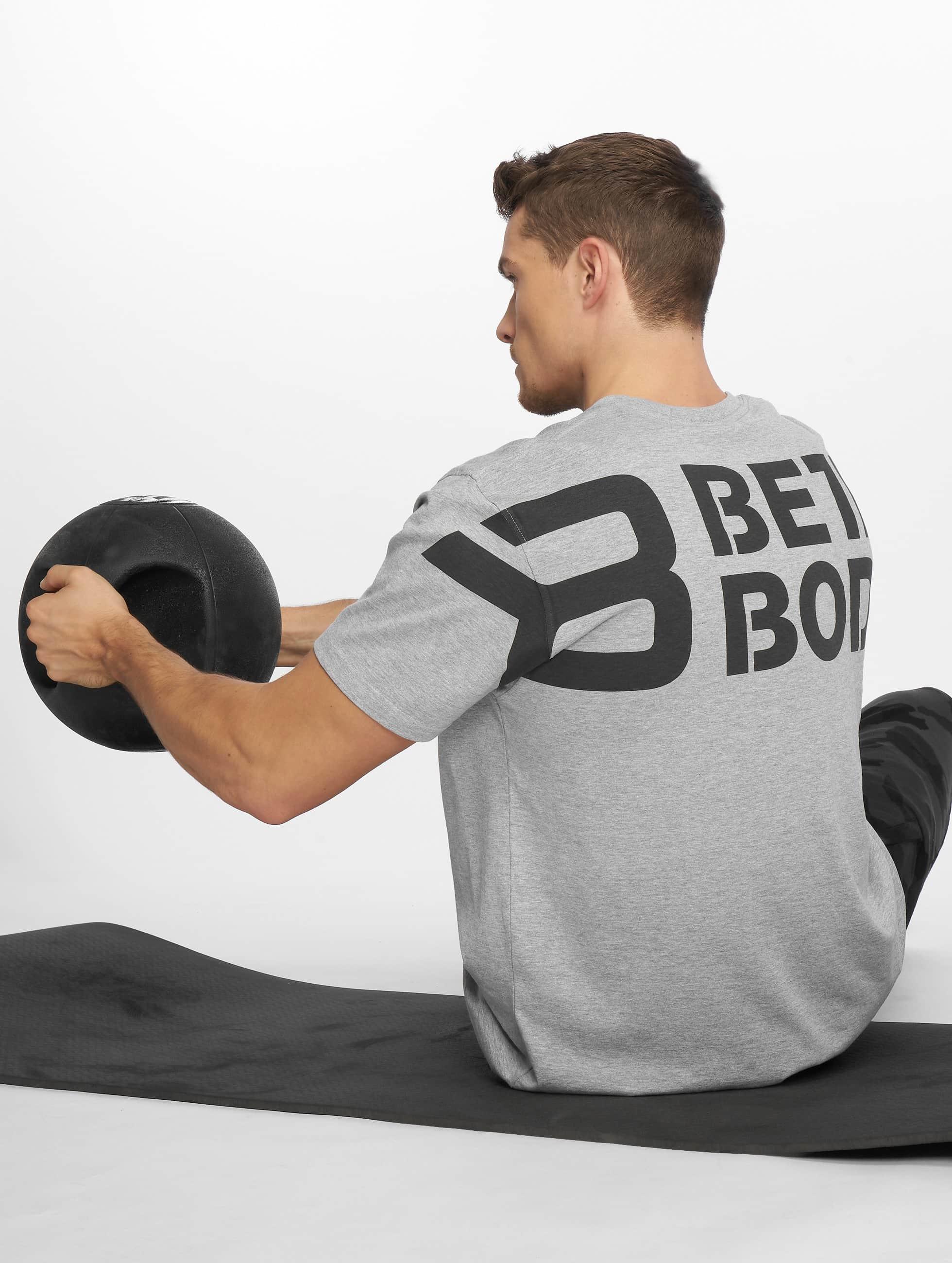 Better Bodies | Stanton gris Homme T-Shirt