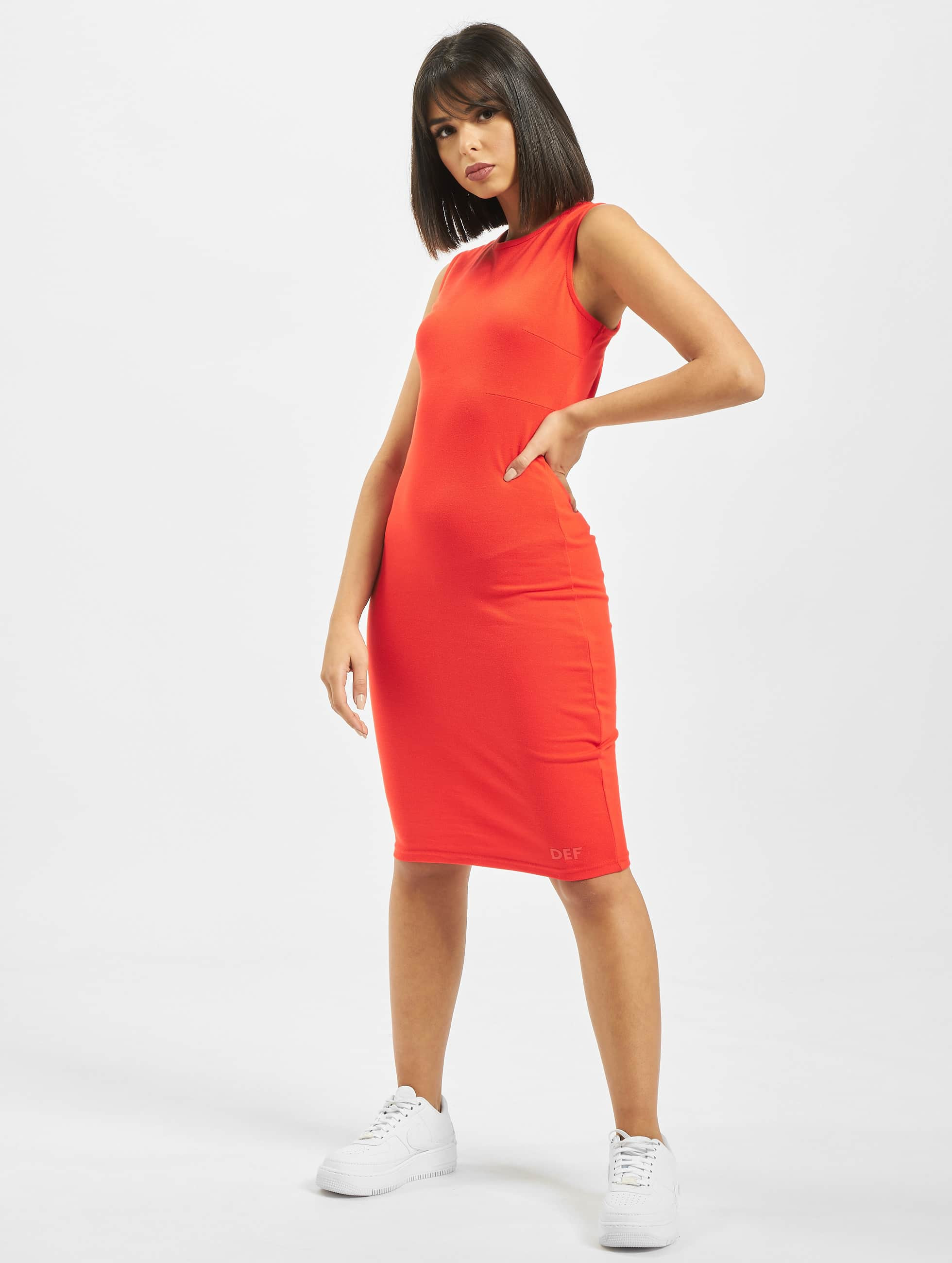 DEF / Dress Ashley in red XS