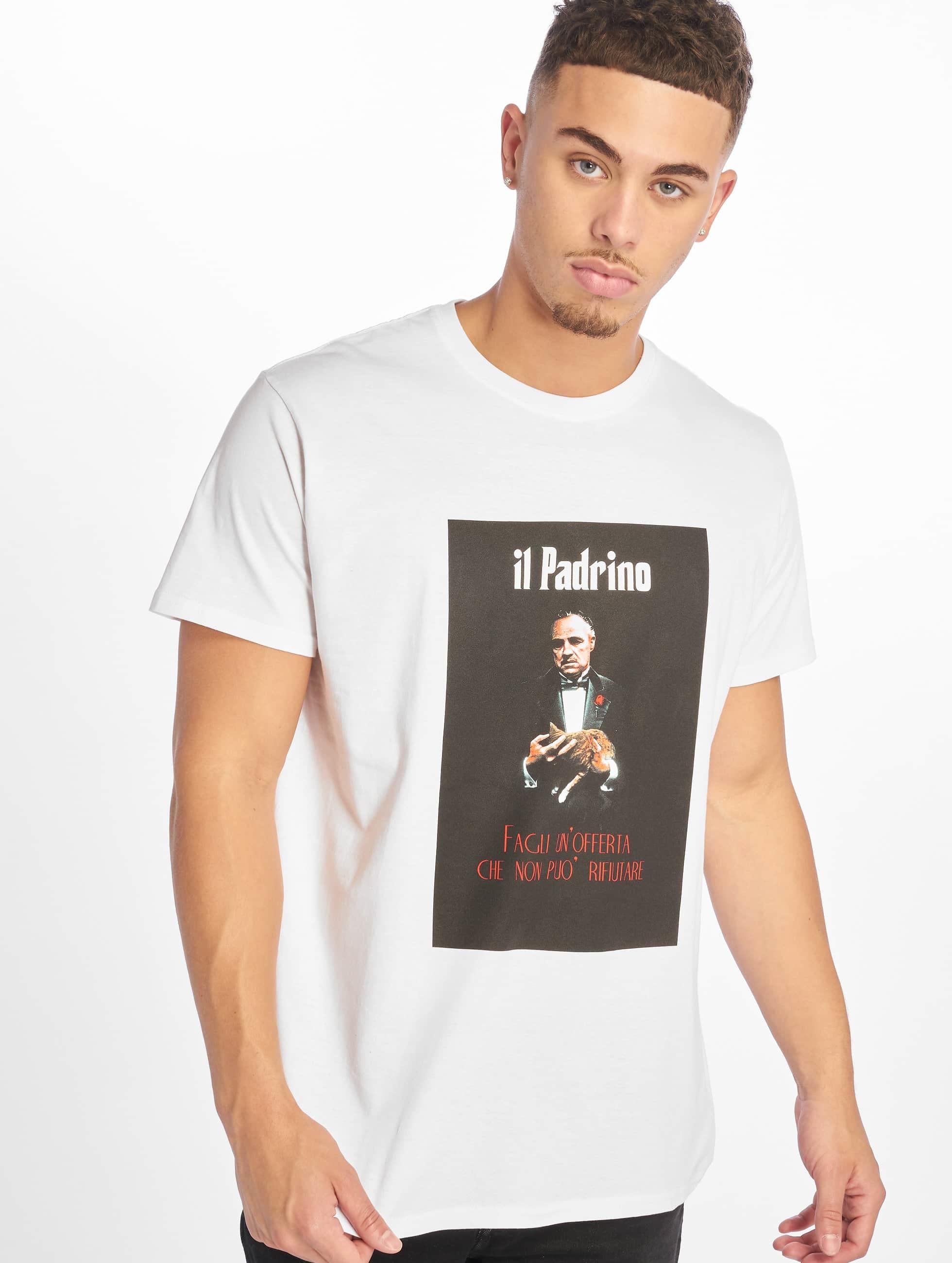 Merchcode | Godfather Il Padrino  blanc Homme T-Shirt