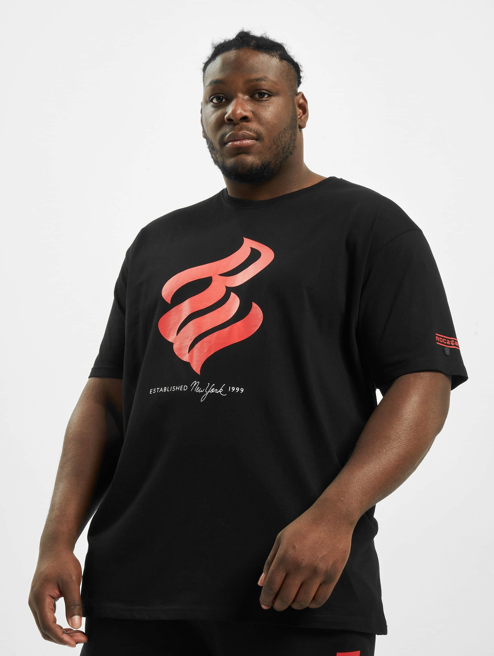Rocawear / T-Shirt Big in black 7XL