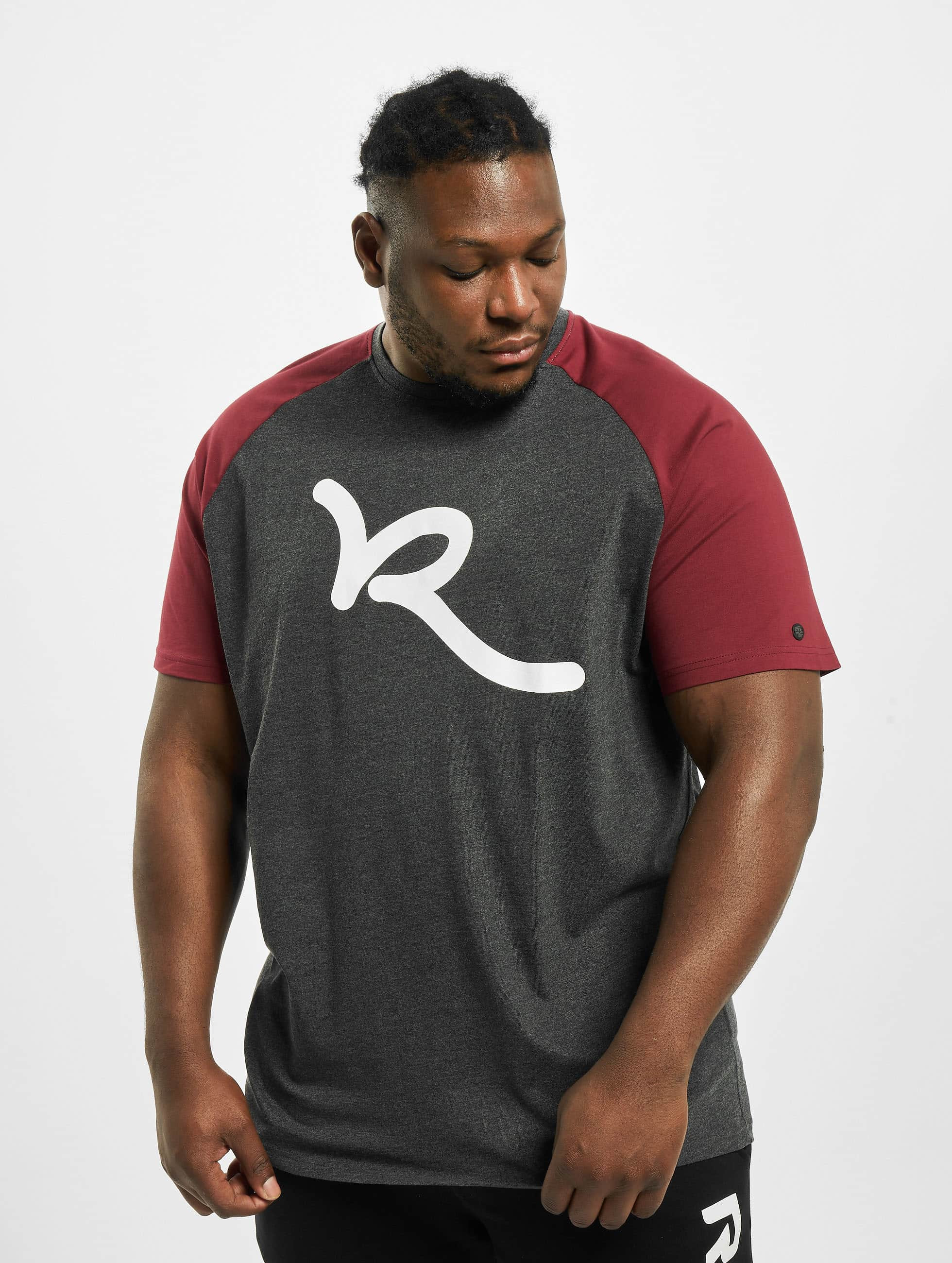 Rocawear / T-Shirt Big Raglan in red 9XL