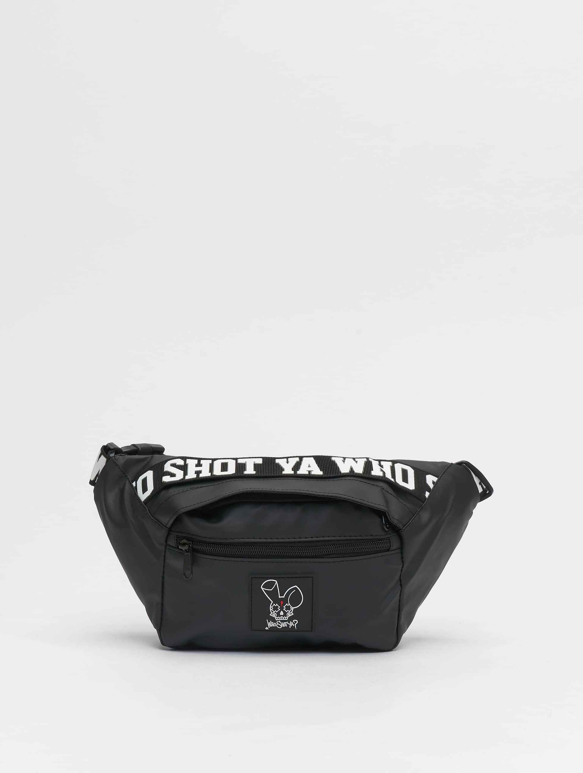 Who Shot Ya? / Bag Rabbit in black One Size