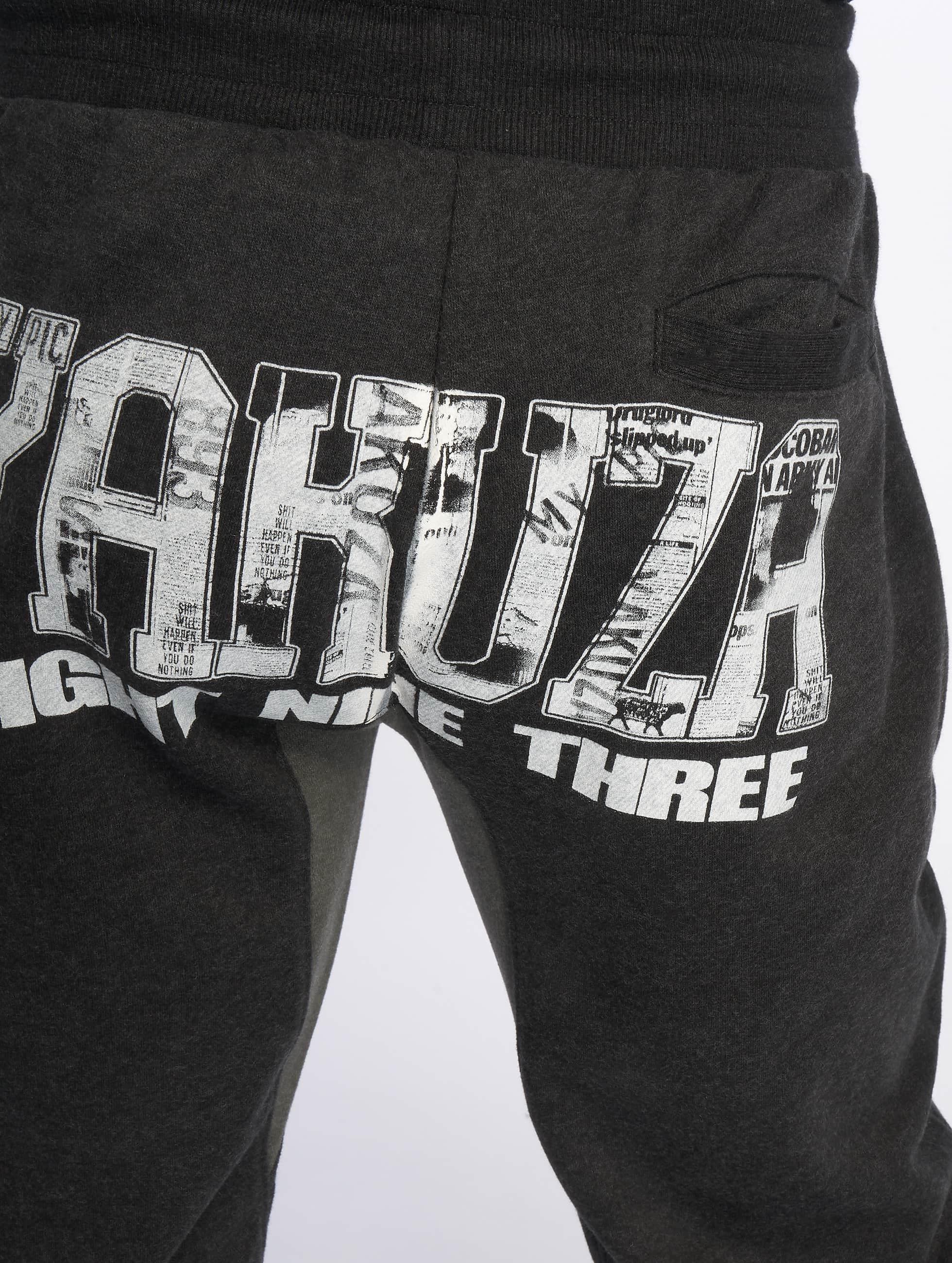 Yakuza Herren Hosen   Jogginghose Badge Badge Badge eb7e6b