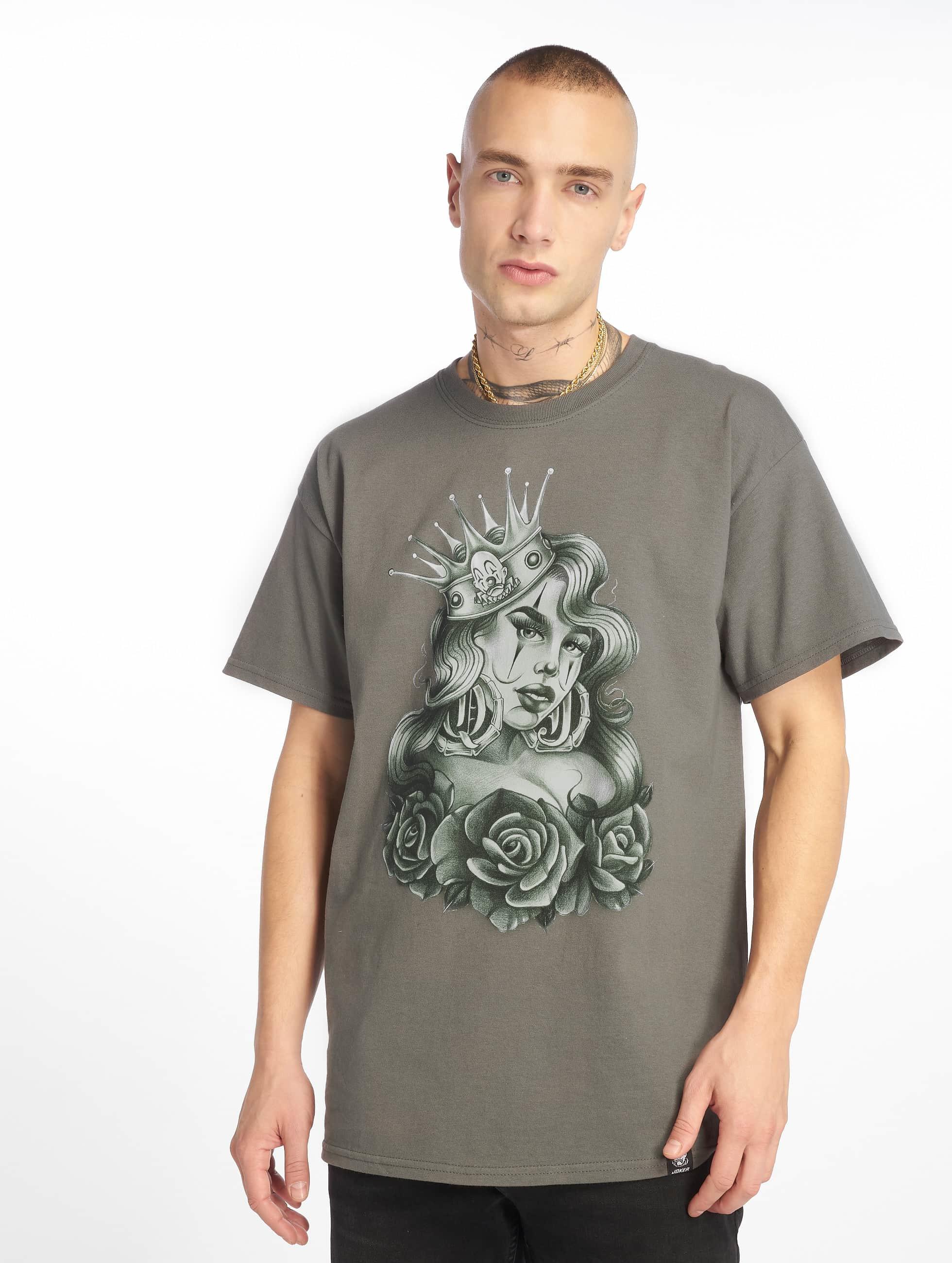 Joker | Queen gris Homme T-Shirt