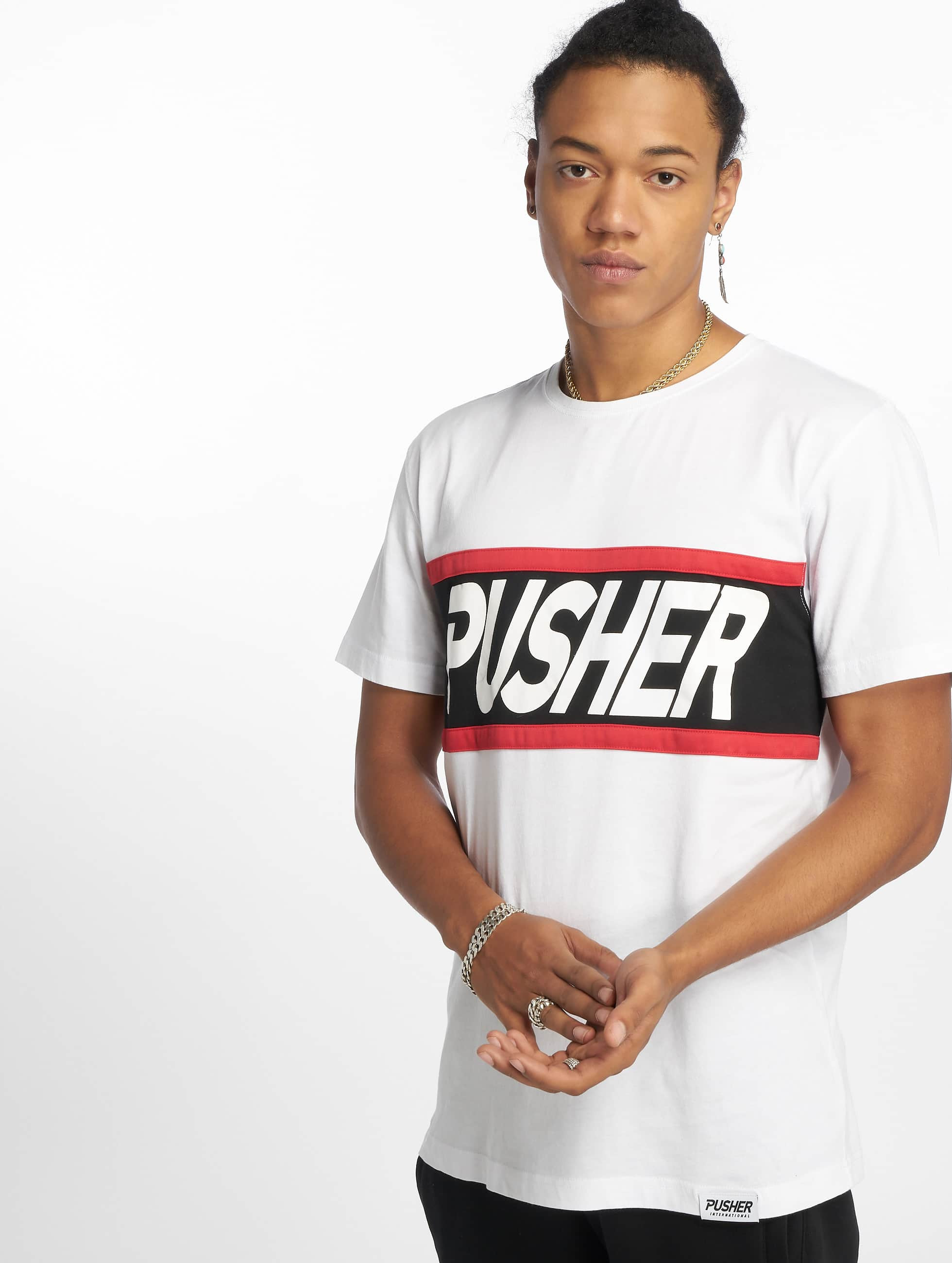 Pusher Apparel | Power blanc Homme T-Shirt