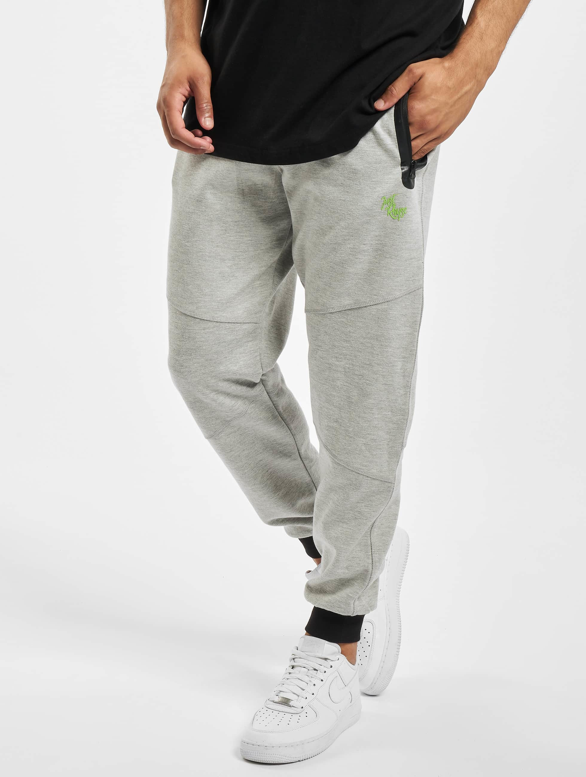 Just Rhyse / Sweat Pant Tront Peak in grey XL