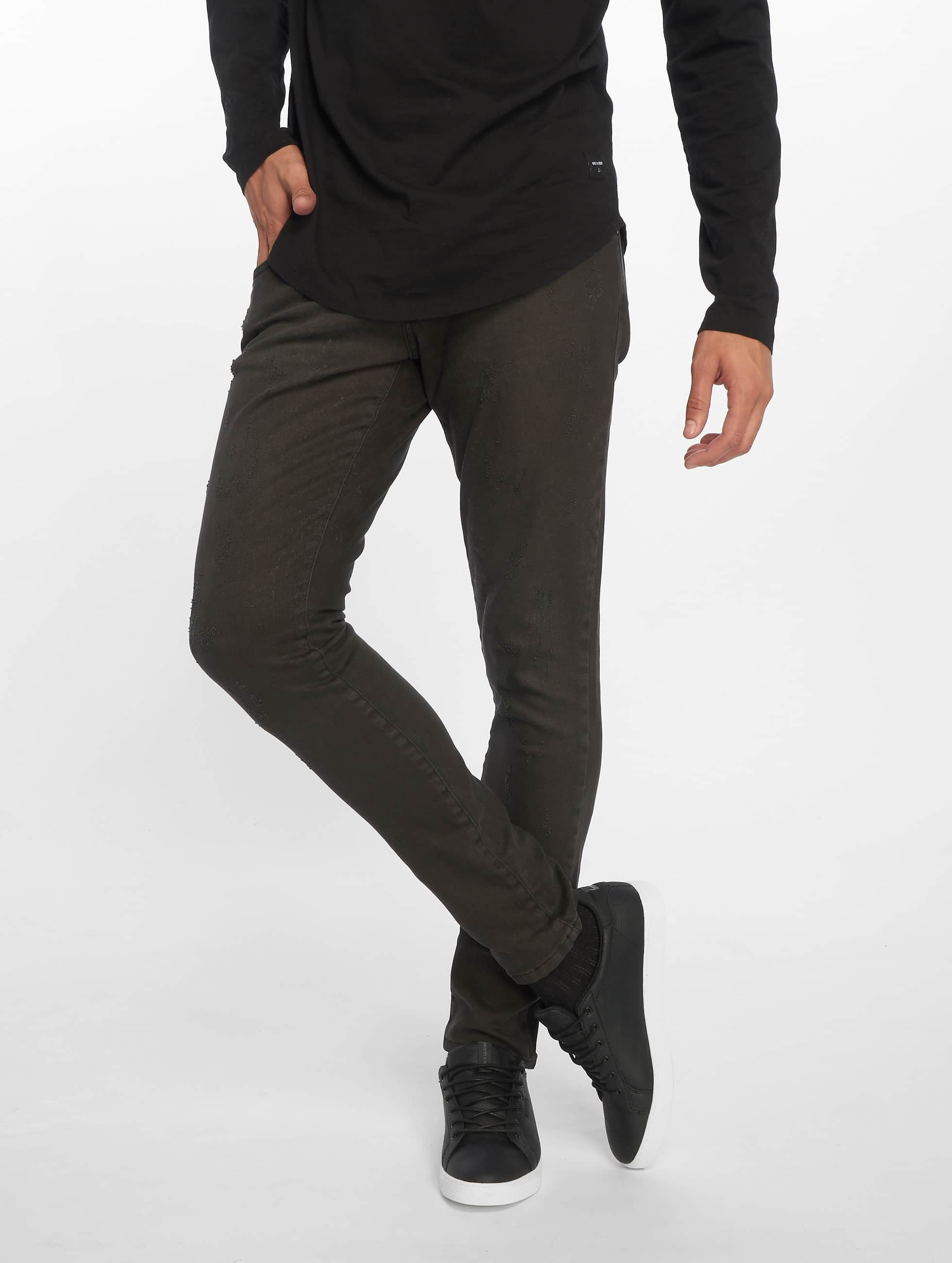 2Y / Slim Fit Jeans Terry in black W 34
