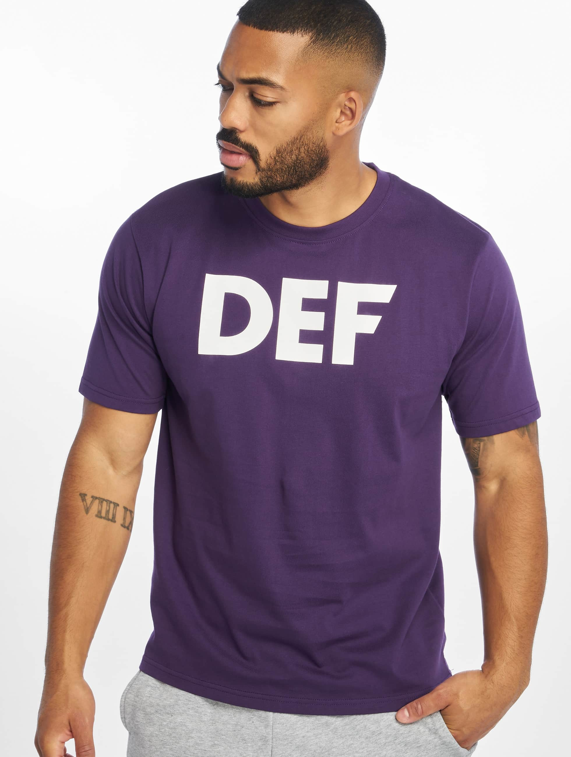 DEF / T-Shirt Her Secret in purple XL