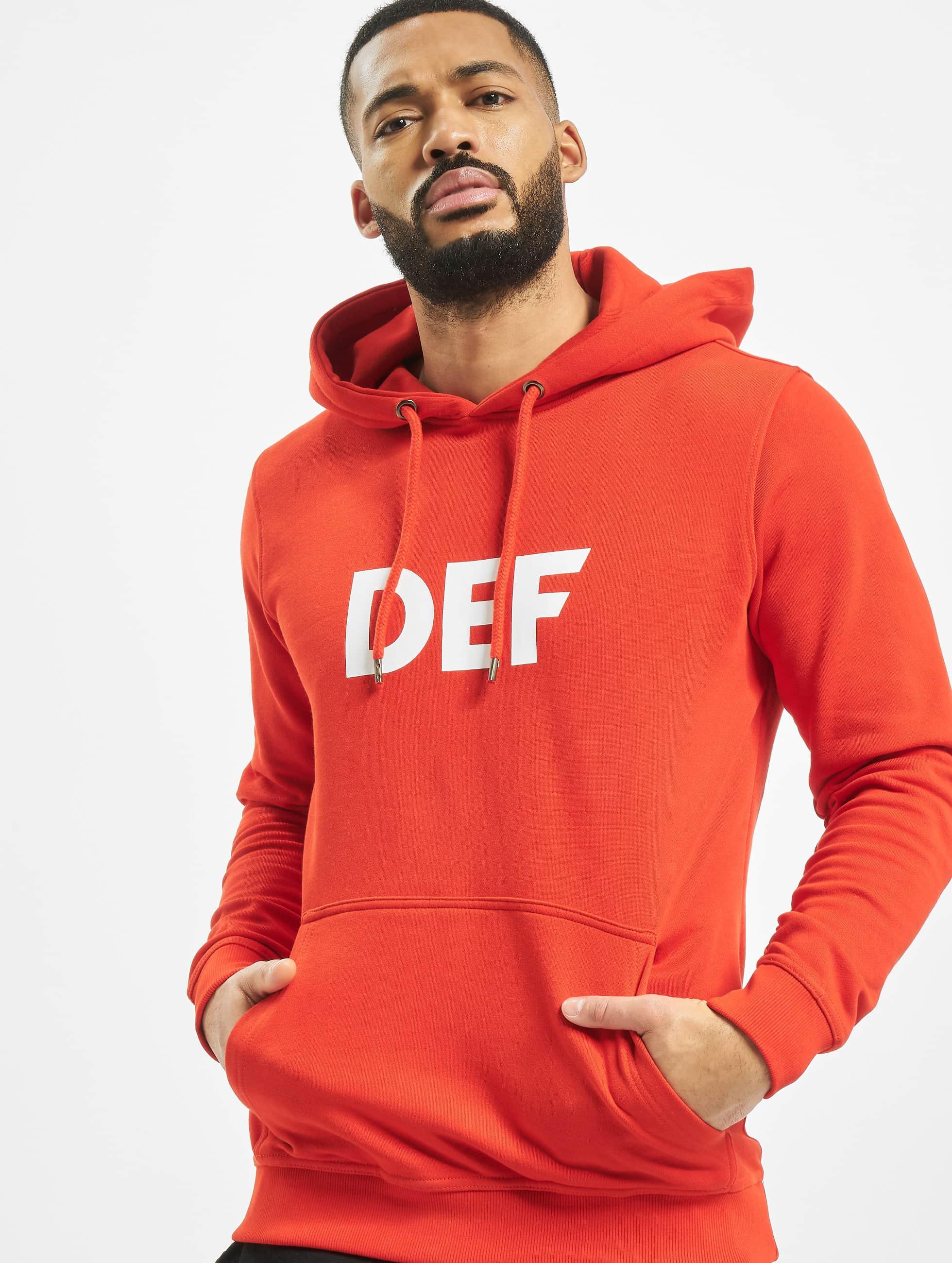 DEF / Hoodie Til Death in red XL
