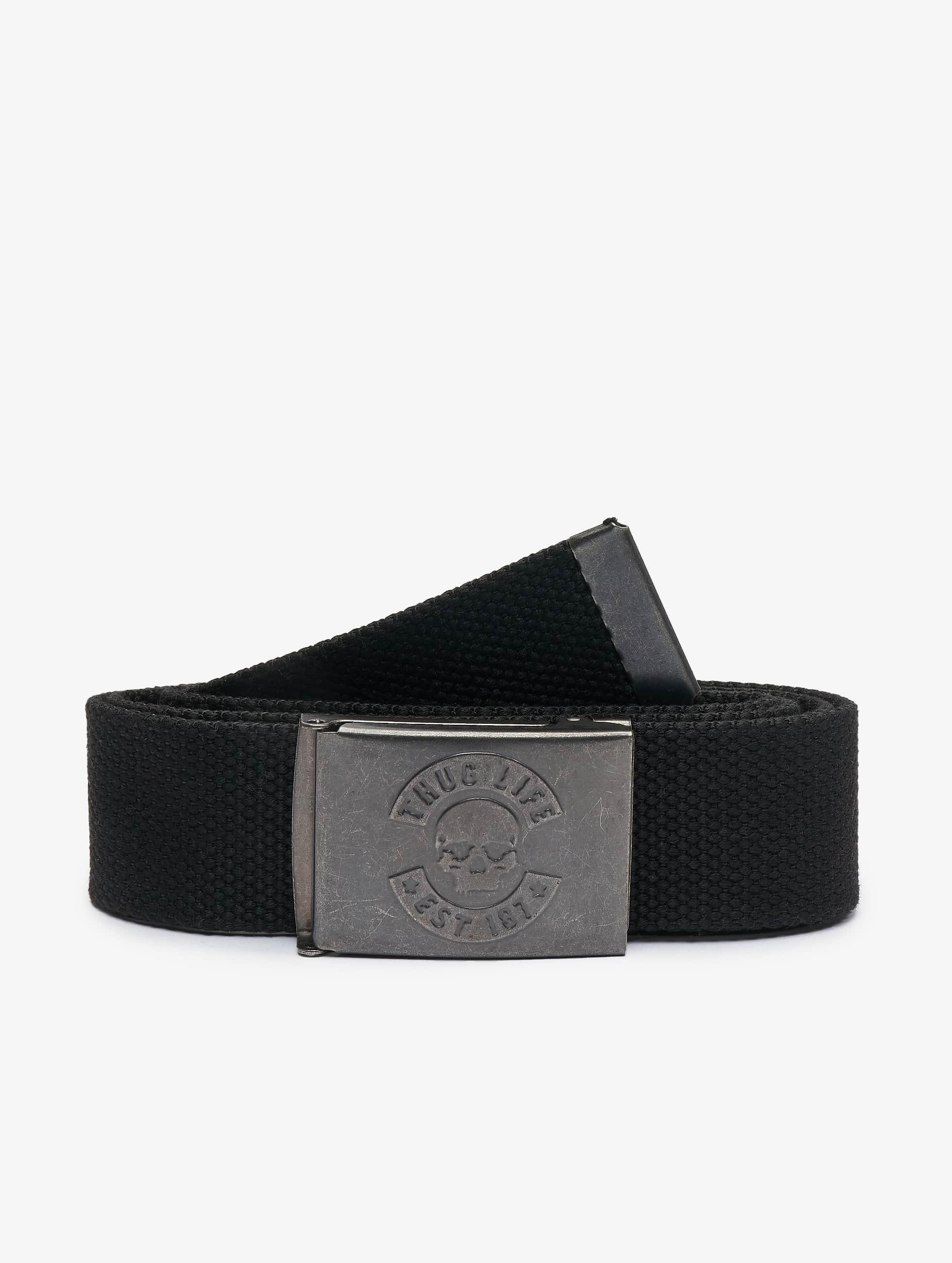 Thug Life / Belt I am Street in black Adjustable
