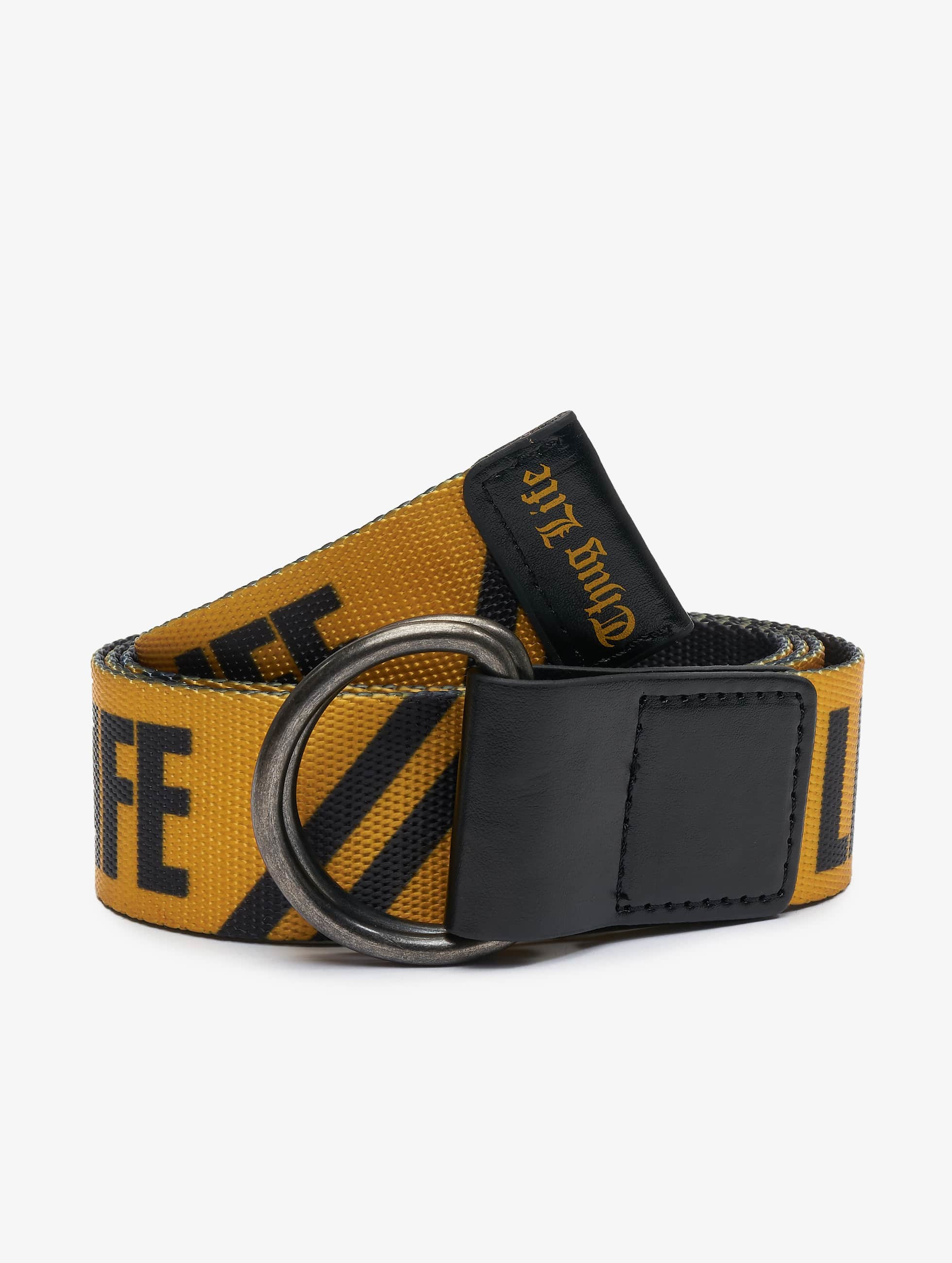 Thug Life / Belt Attention in yellow Adjustable