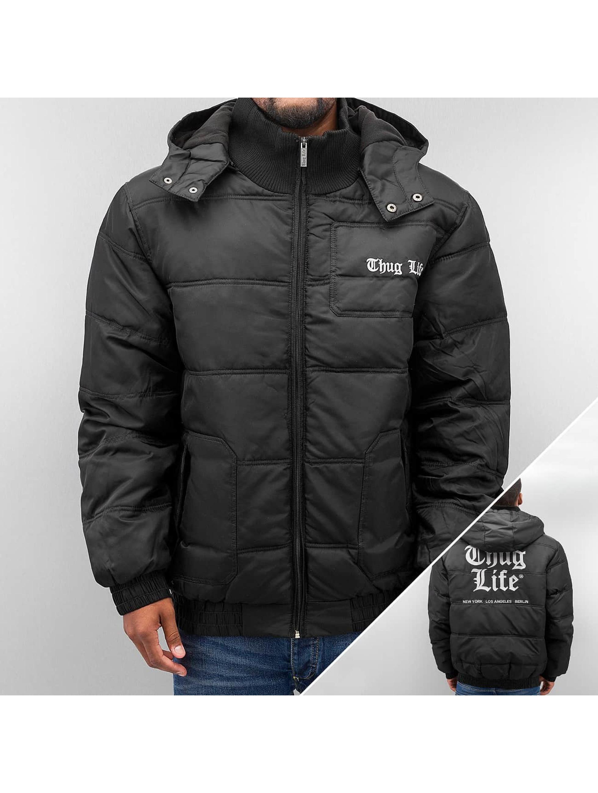 Thug Life Street Dreams Hustler Jacket Black Black