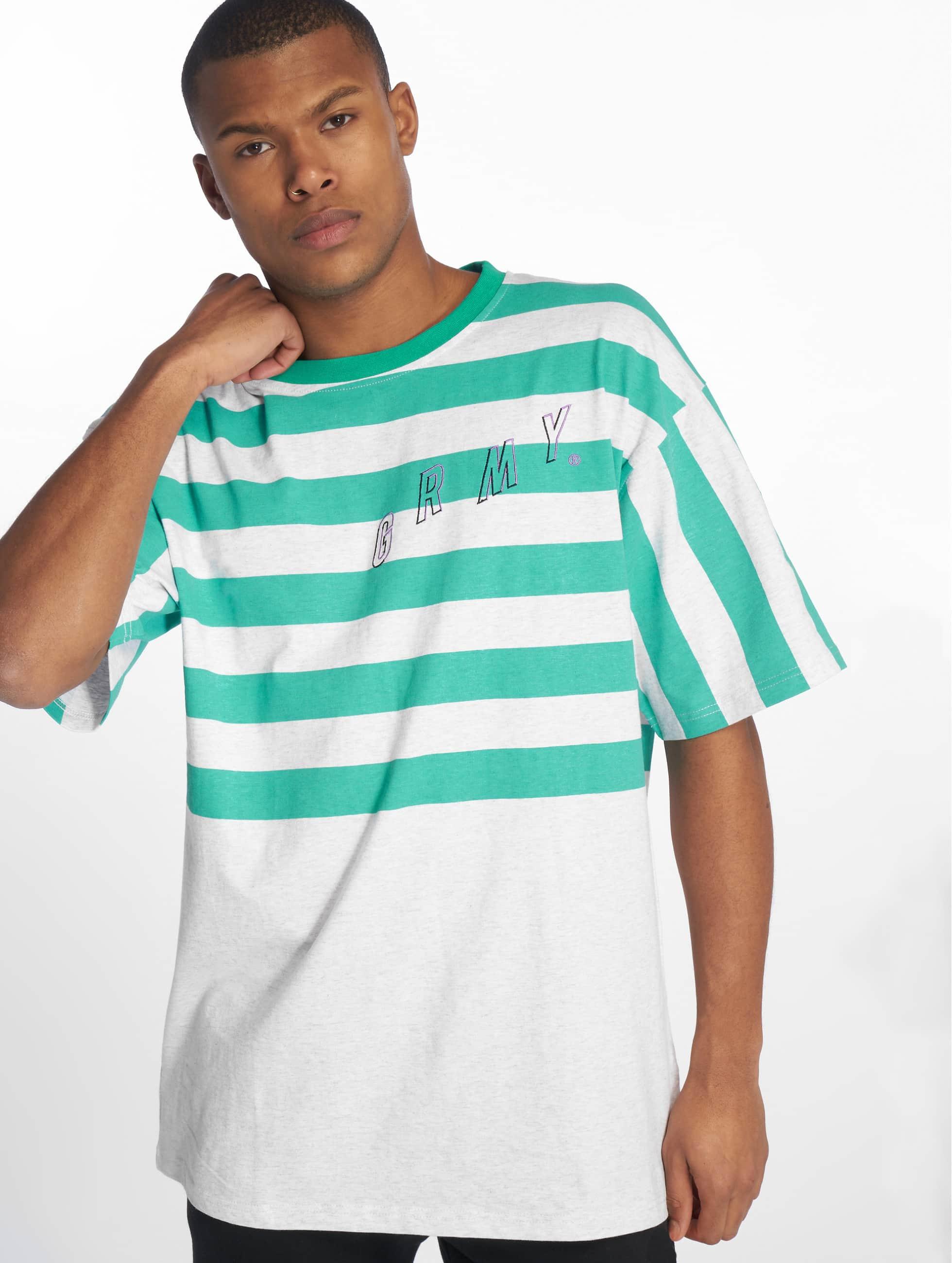 Grimey Wear   Brick City vert Homme T-Shirt
