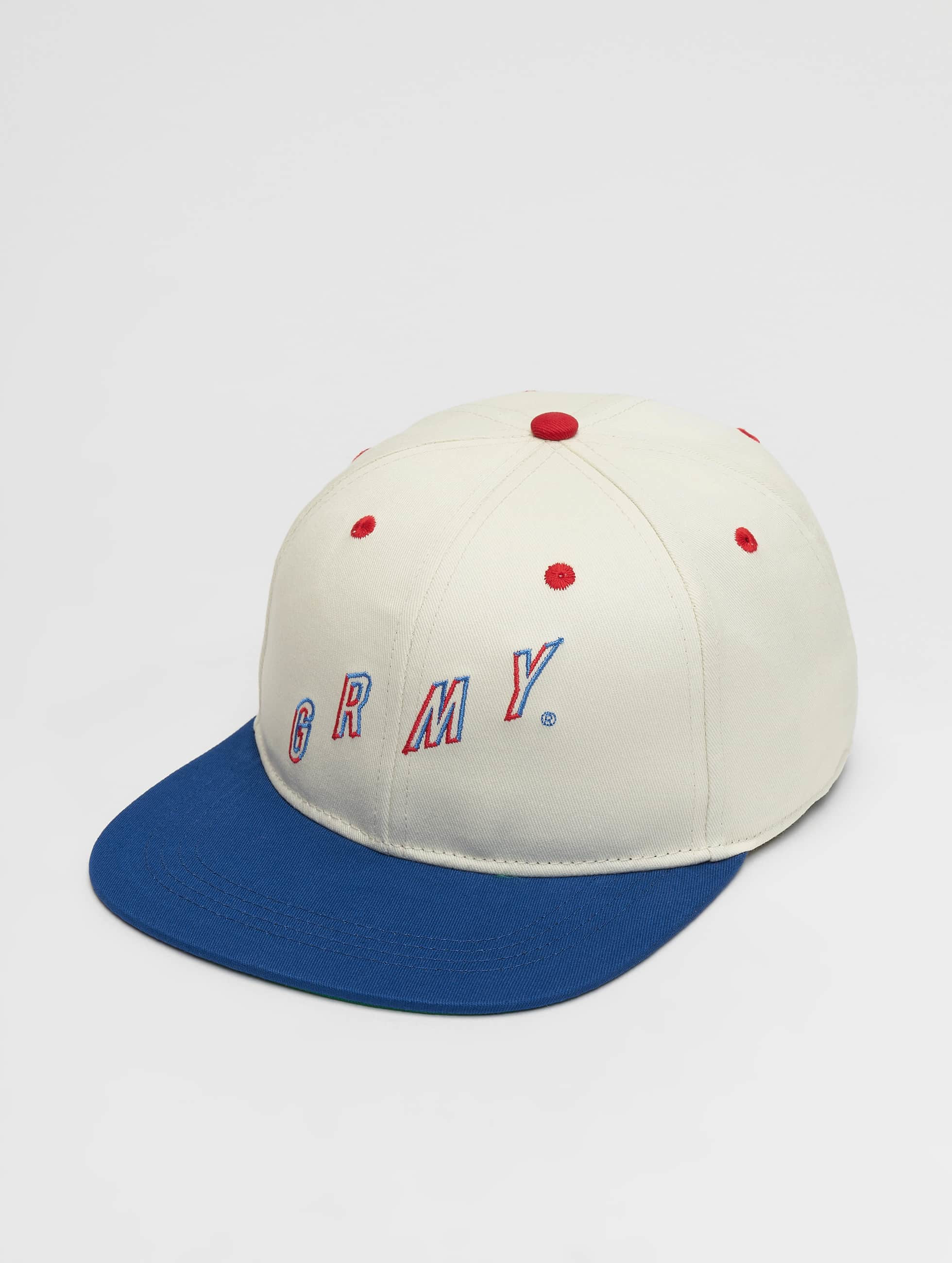 Grimey Wear | F.A.L.A. blanc Homme,Femme Casquette Snapback & Strapback
