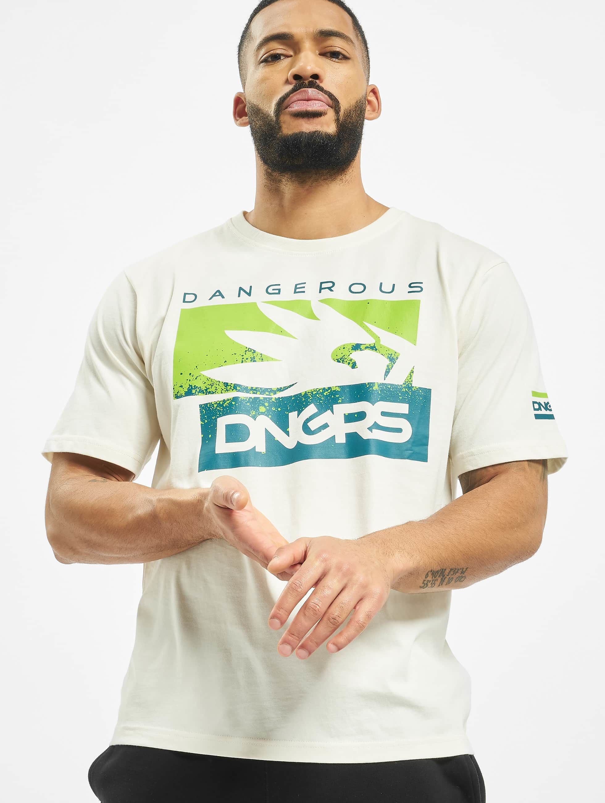 Dangerous DNGRS / T-Shirt Leuz in white XL