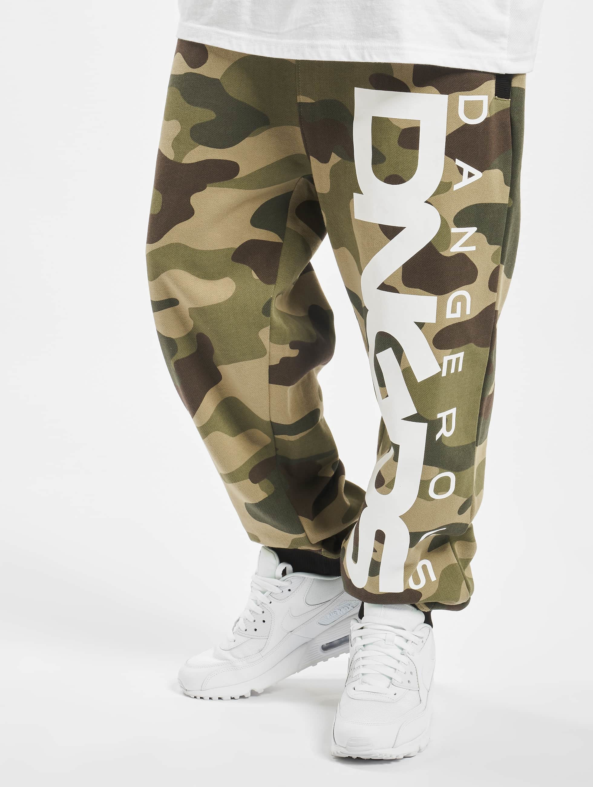 Dangerous DNGRS / Sweat Pant Classic in camouflage XL