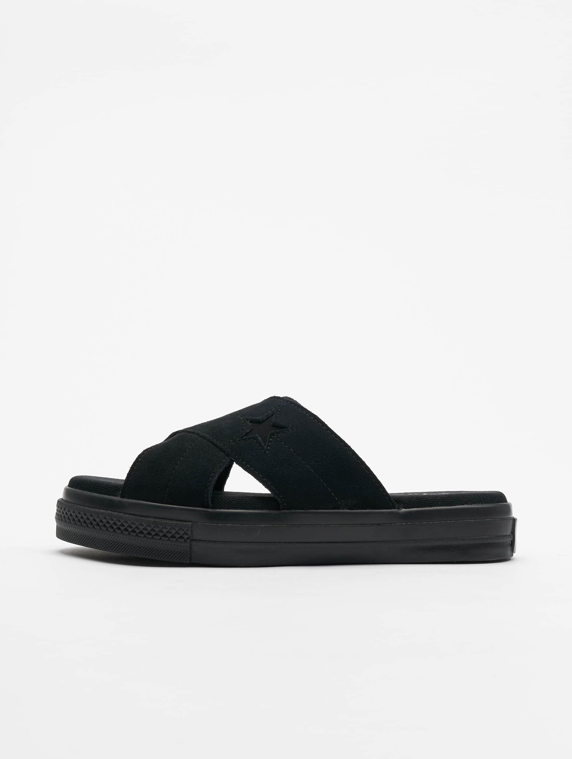 Converse   One Star Slip noir Femme Claquettes & Sandales