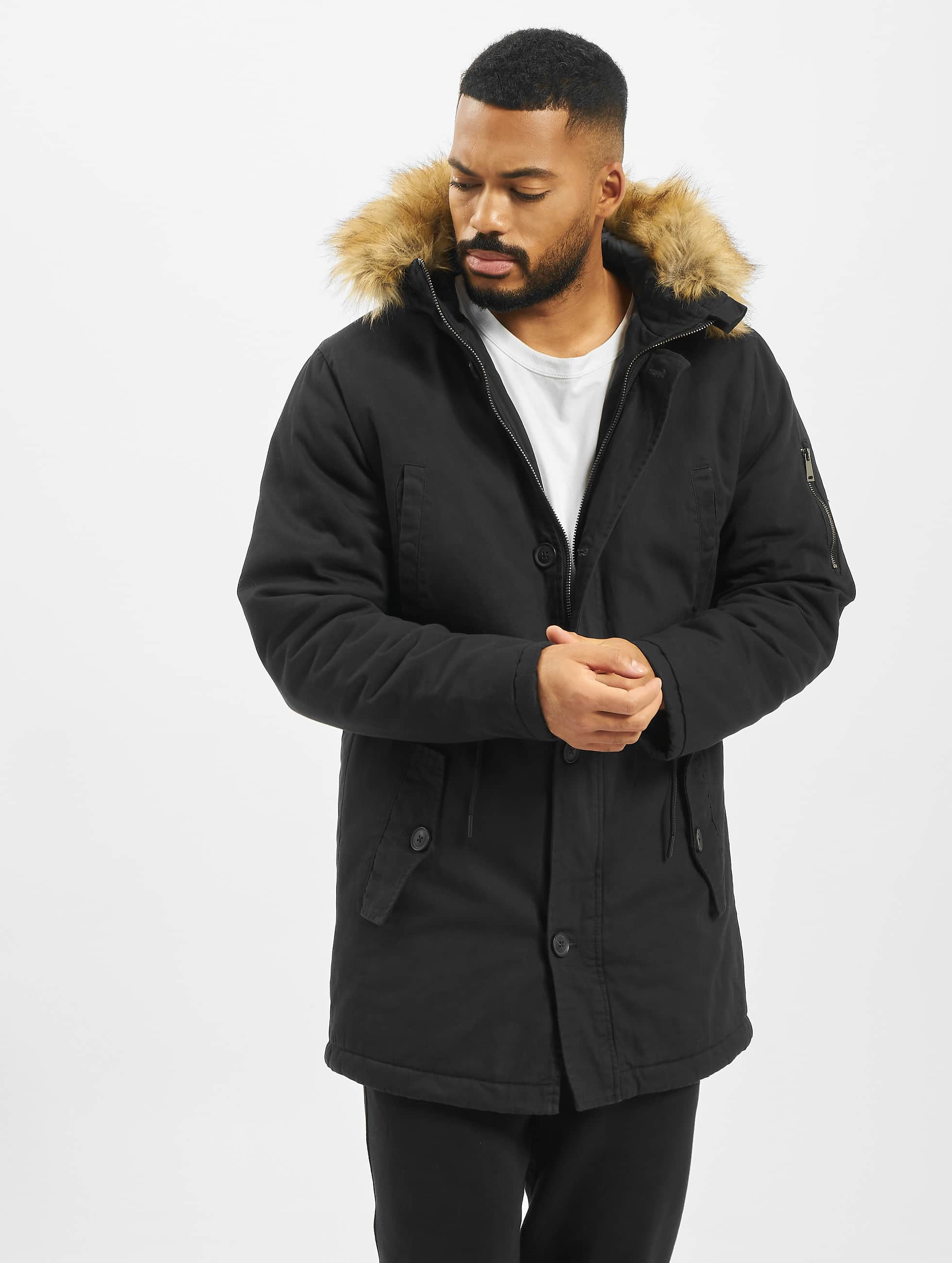 DEF / Winter Jacket Steve in black XL