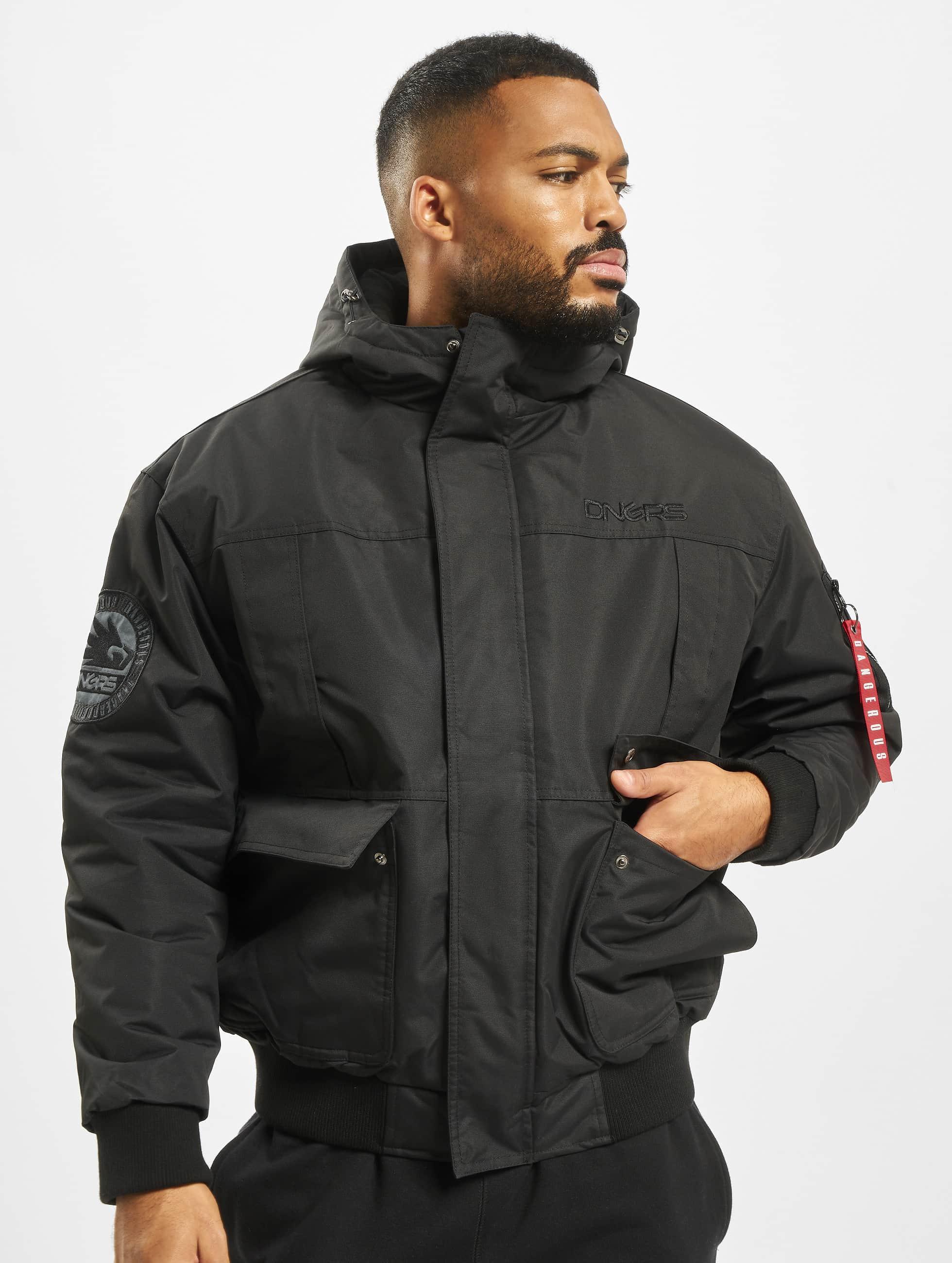 Dangerous DNGRS / Winter Jacket Grenadier in black S