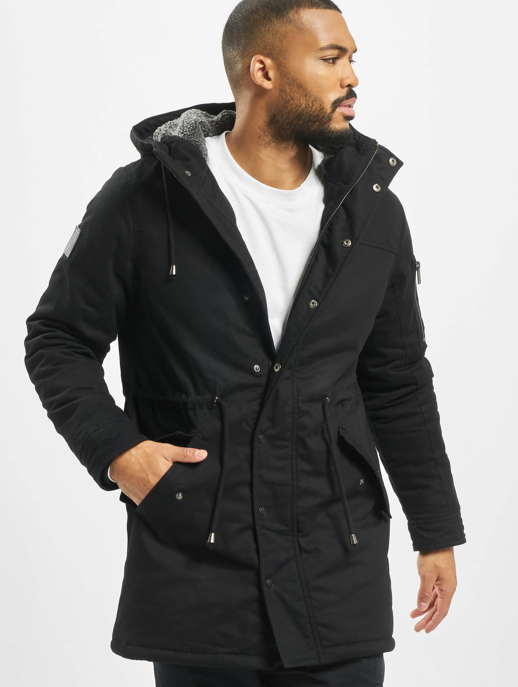 Just Rhyse / Winter Jacket Wind River in black XL