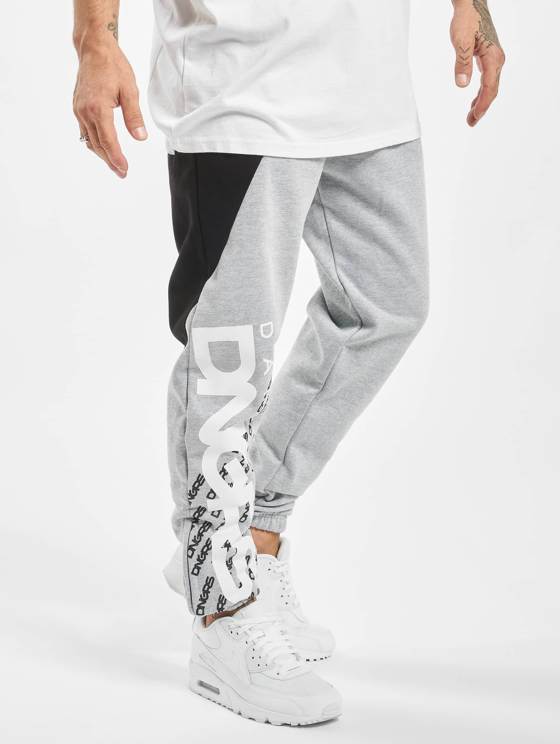 Dangerous DNGRS / Sweat Pant Noah in grey XL