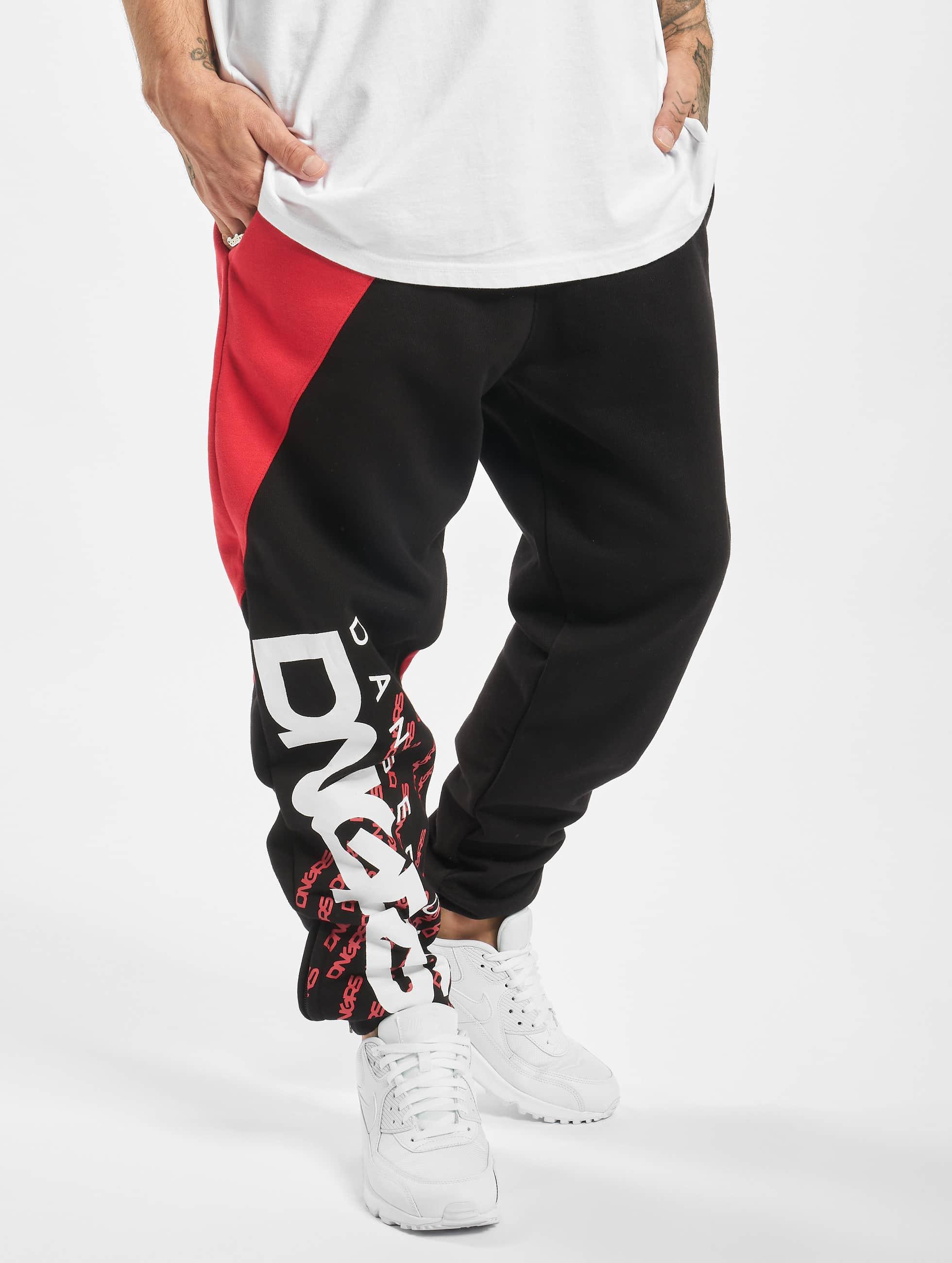 Dangerous DNGRS / Sweat Pant Noah in black XL