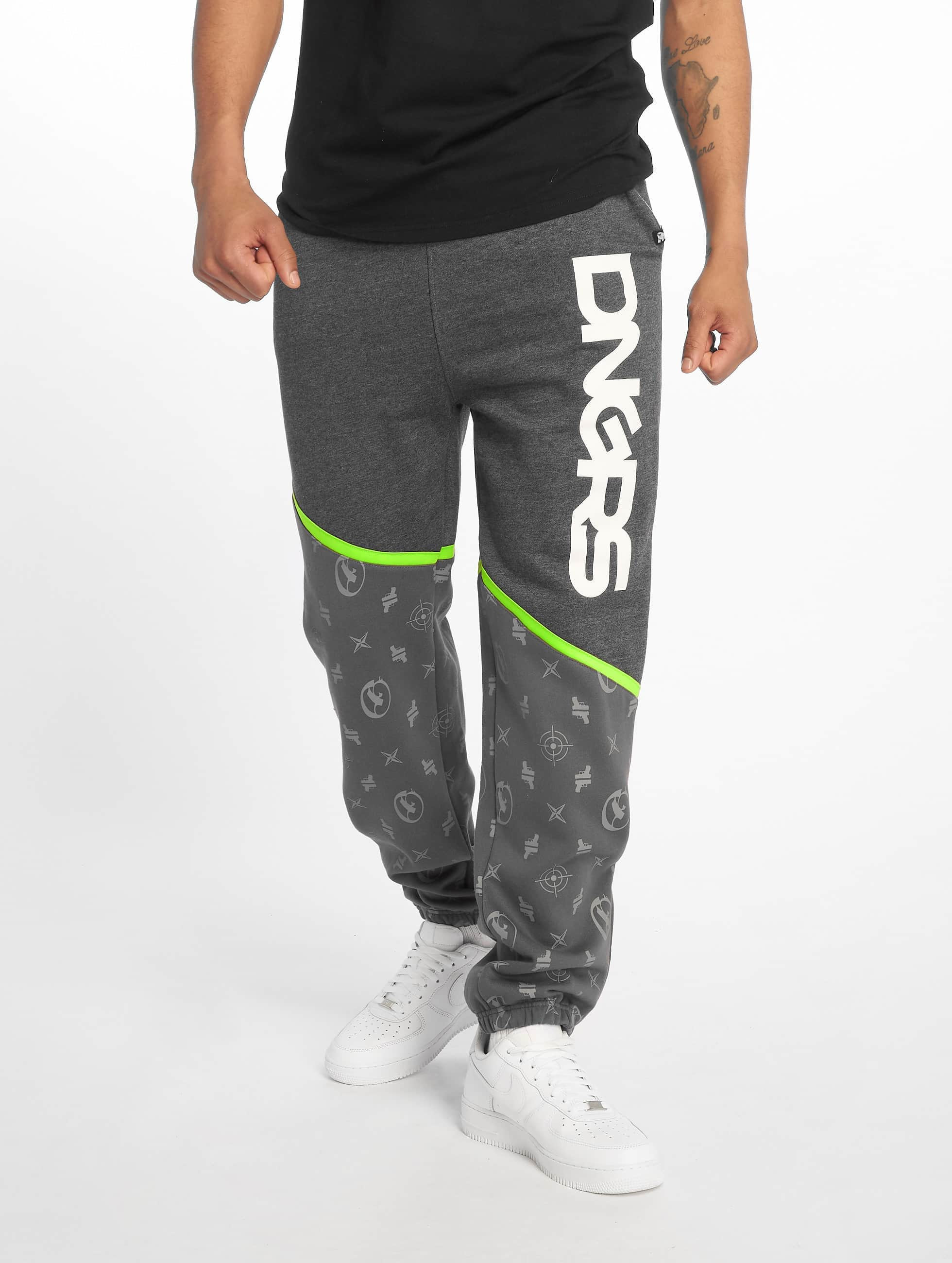 Dangerous DNGRS / Sweat Pant Bear in grey S