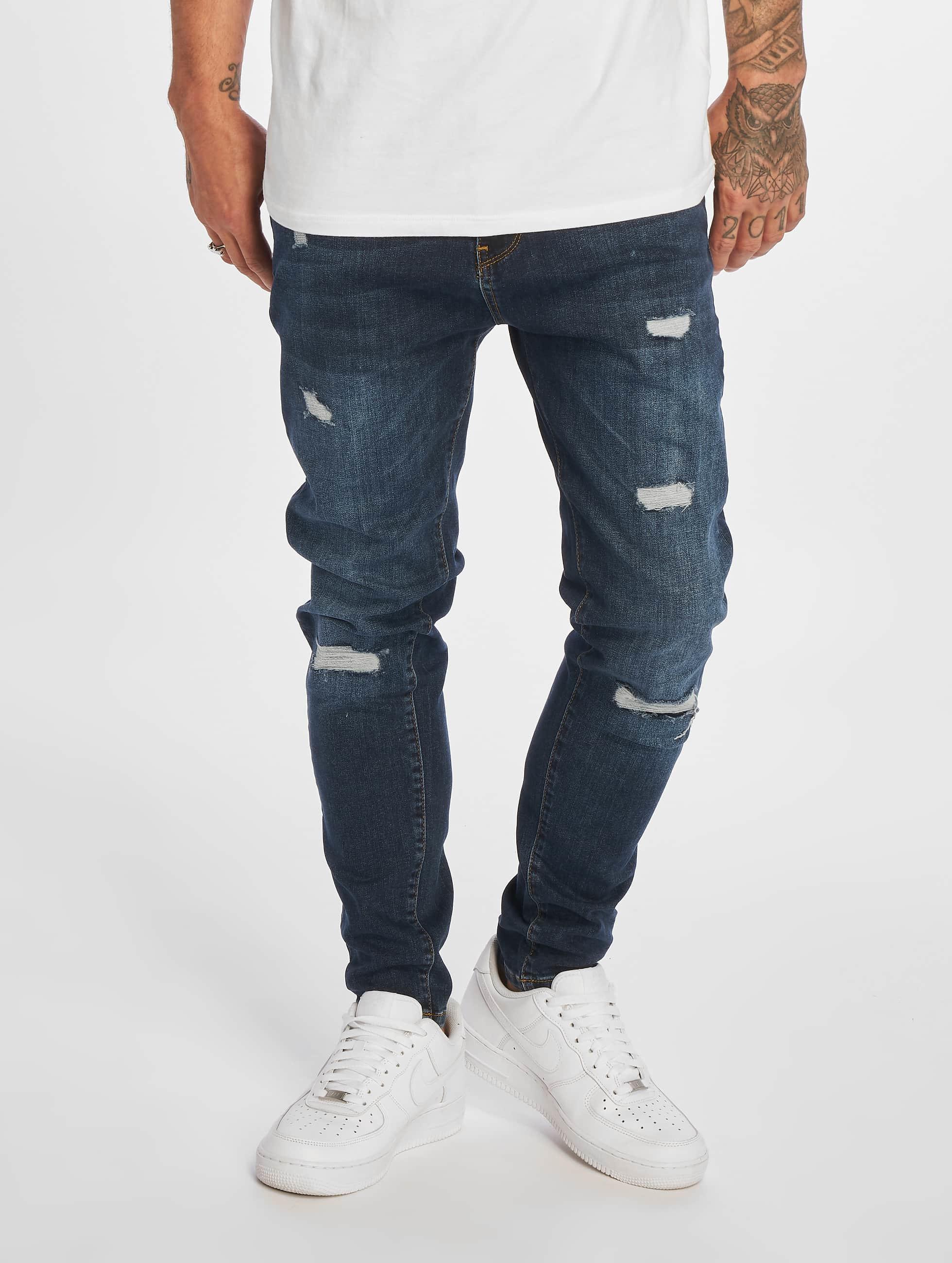 DEF / Slim Fit Jeans Burundi in indigo W 36