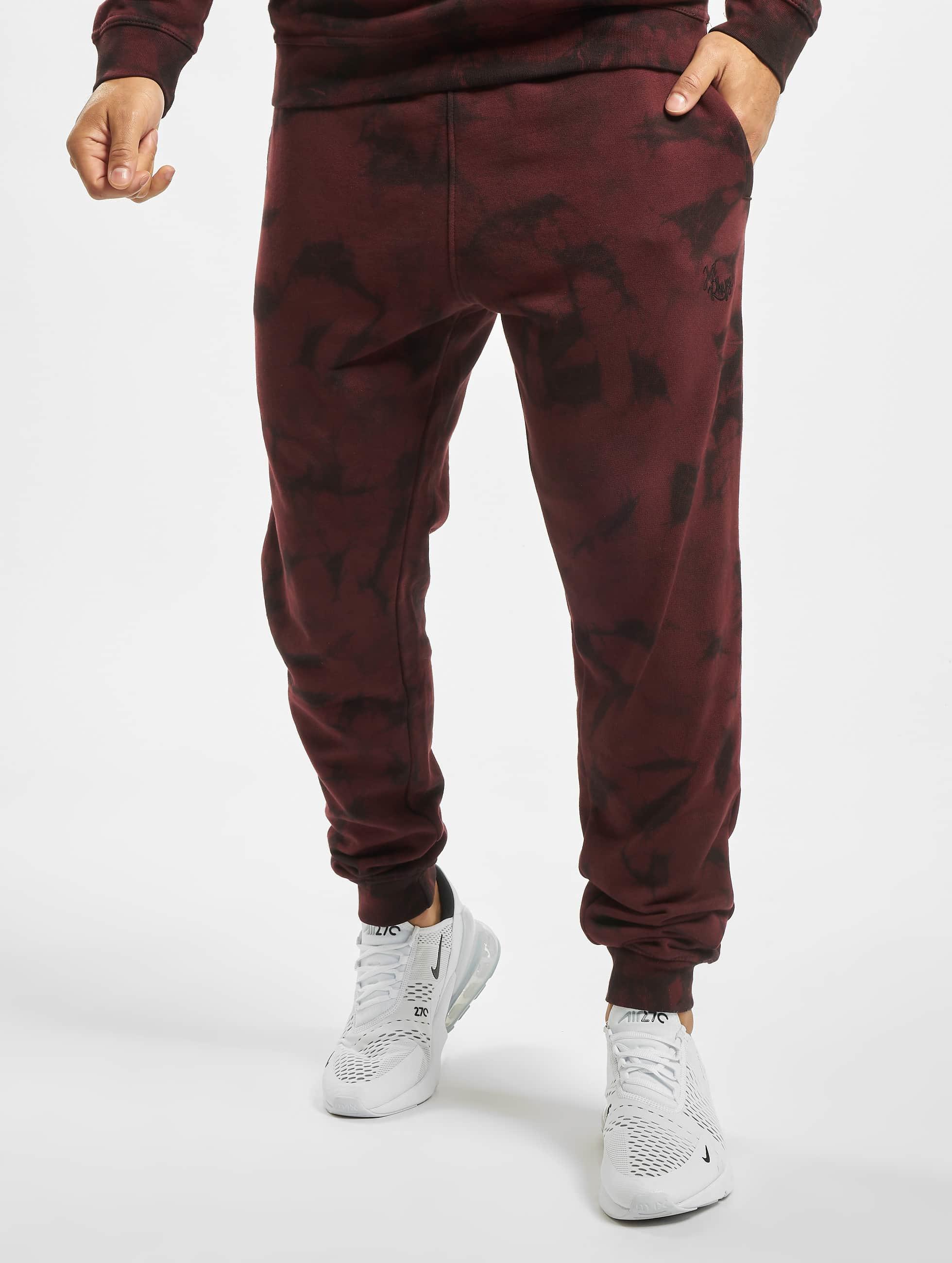Just Rhyse / Sweat Pant Ten Sleep in red S