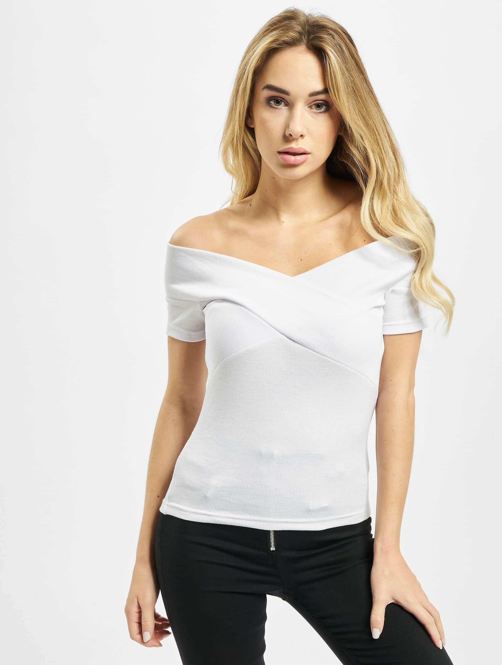 DEF / T-Shirt Aya in white XS