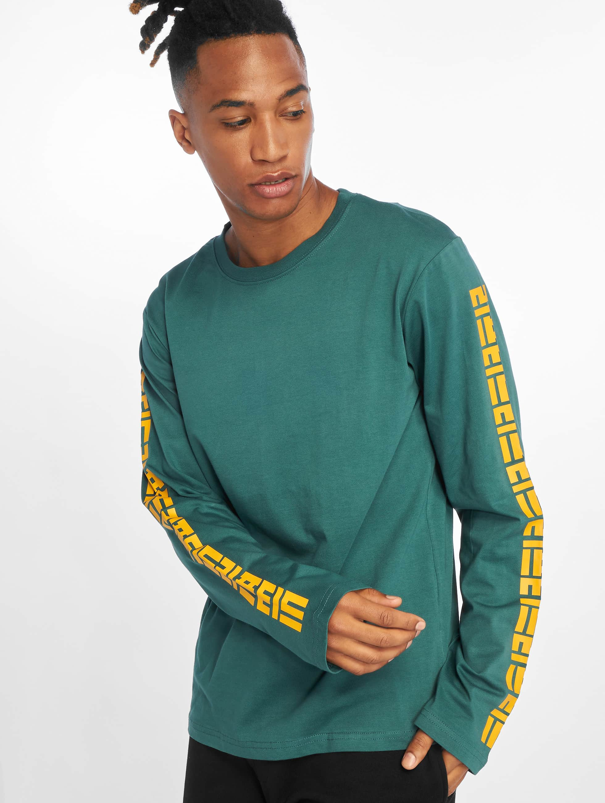 Lifted | Yun vert Homme T-Shirt manches longues