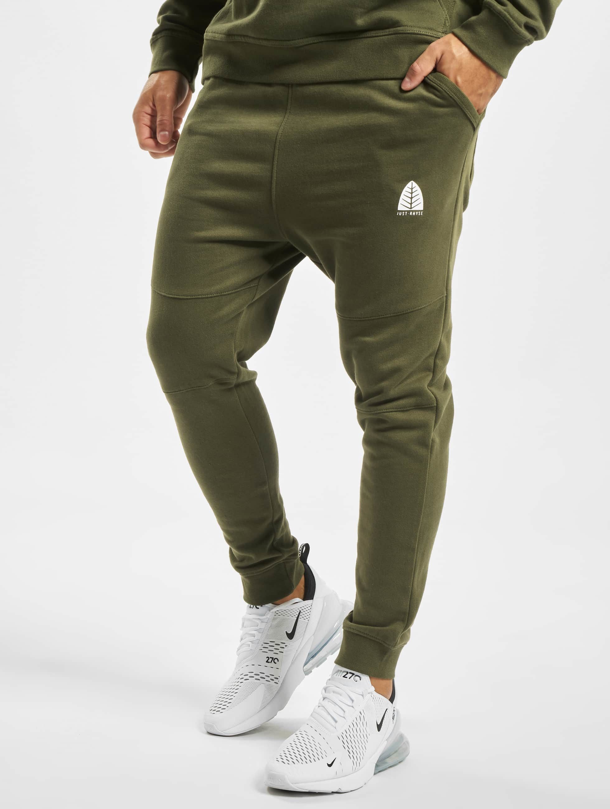 Just Rhyse / Sweat Pant Rainrock in olive 3XL