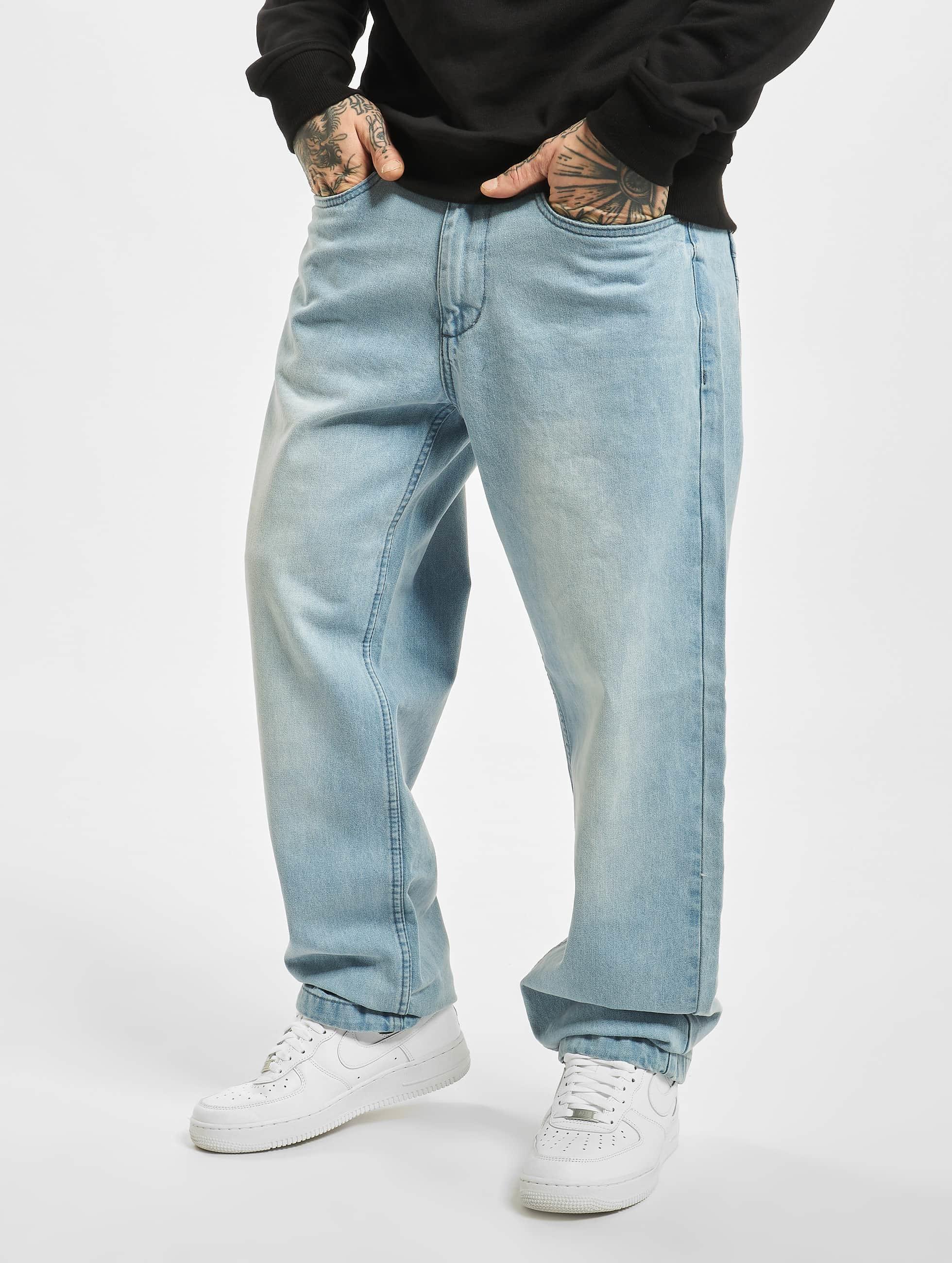 Ecko Unltd. / Loose Fit Jeans Wide Leg Fit in blue W 52 L 34