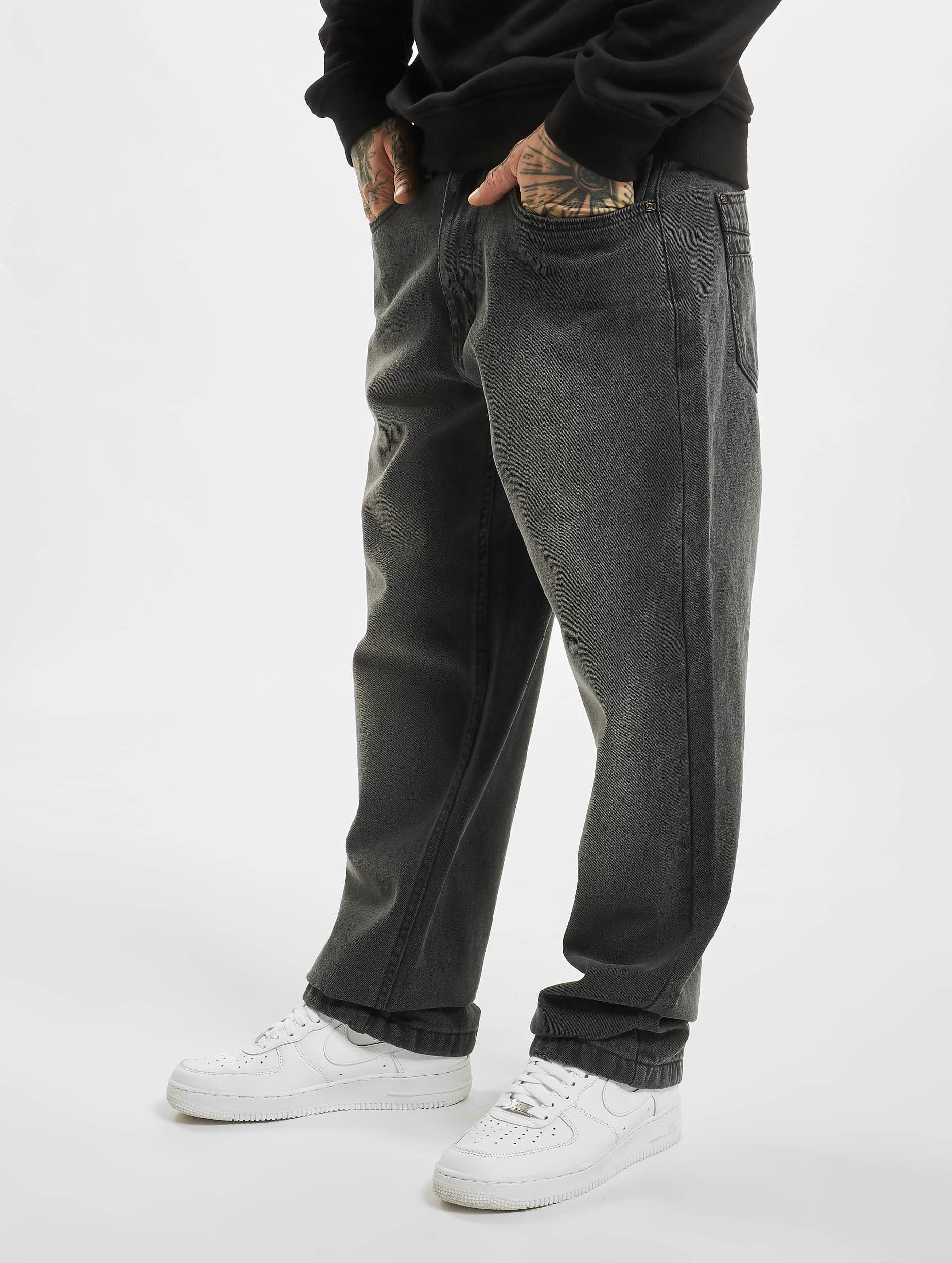 Ecko Unltd. / Loose Fit Jeans Wide Leg Fit in black W 52 L 34