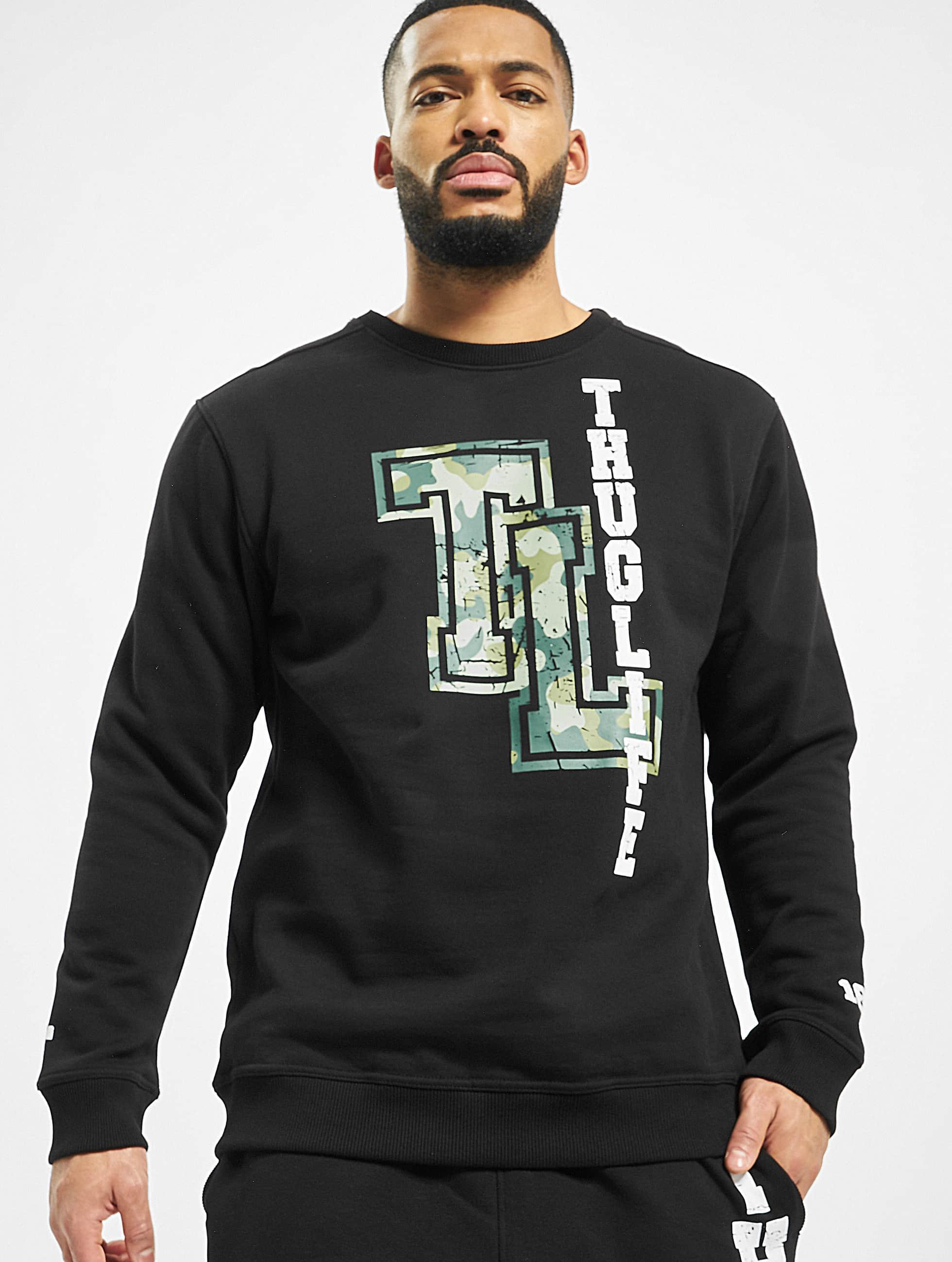 Thug Life / Jumper Under Pressure in black XL