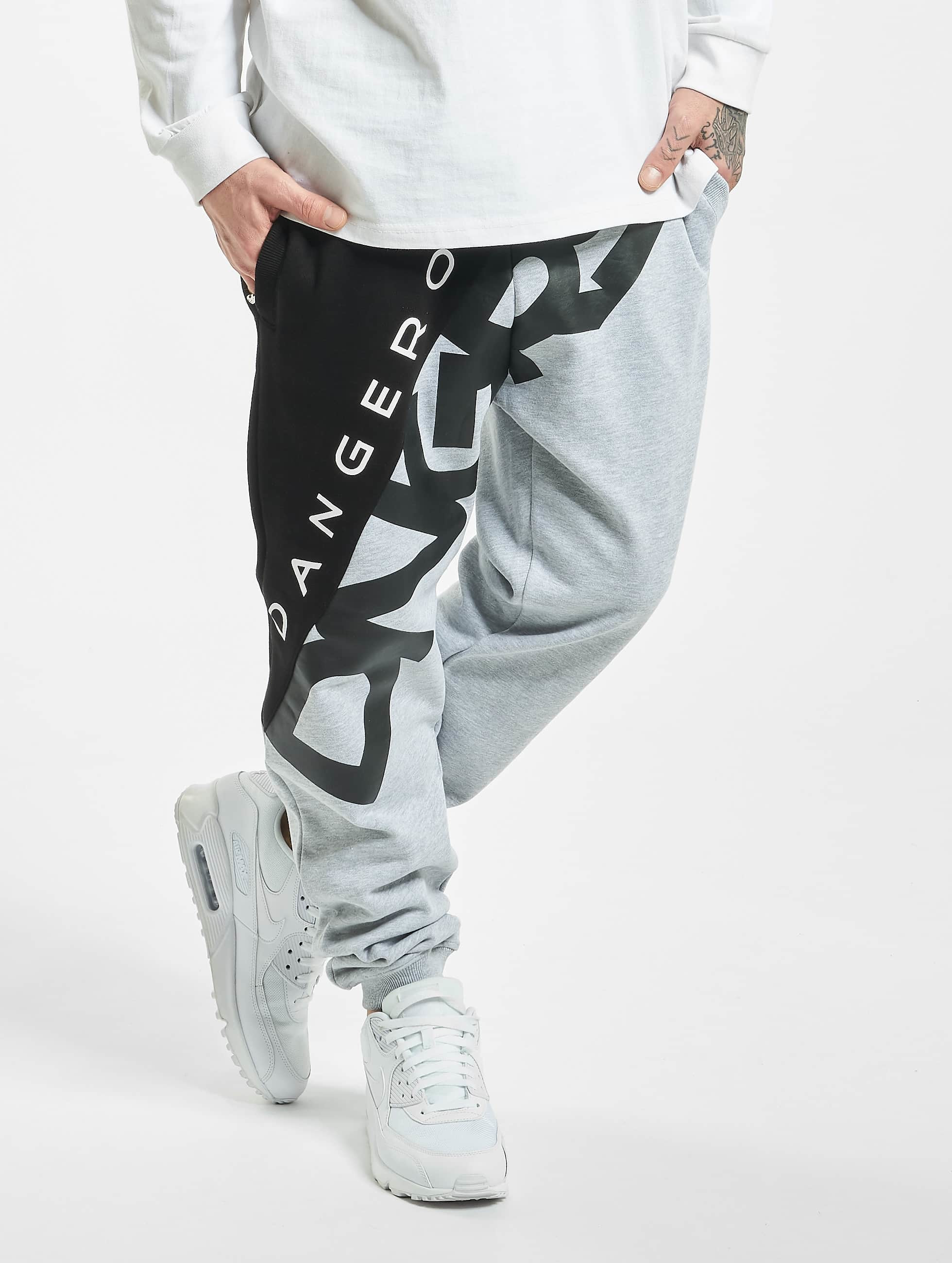 Dangerous DNGRS / Sweat Pant Pivot in grey XL