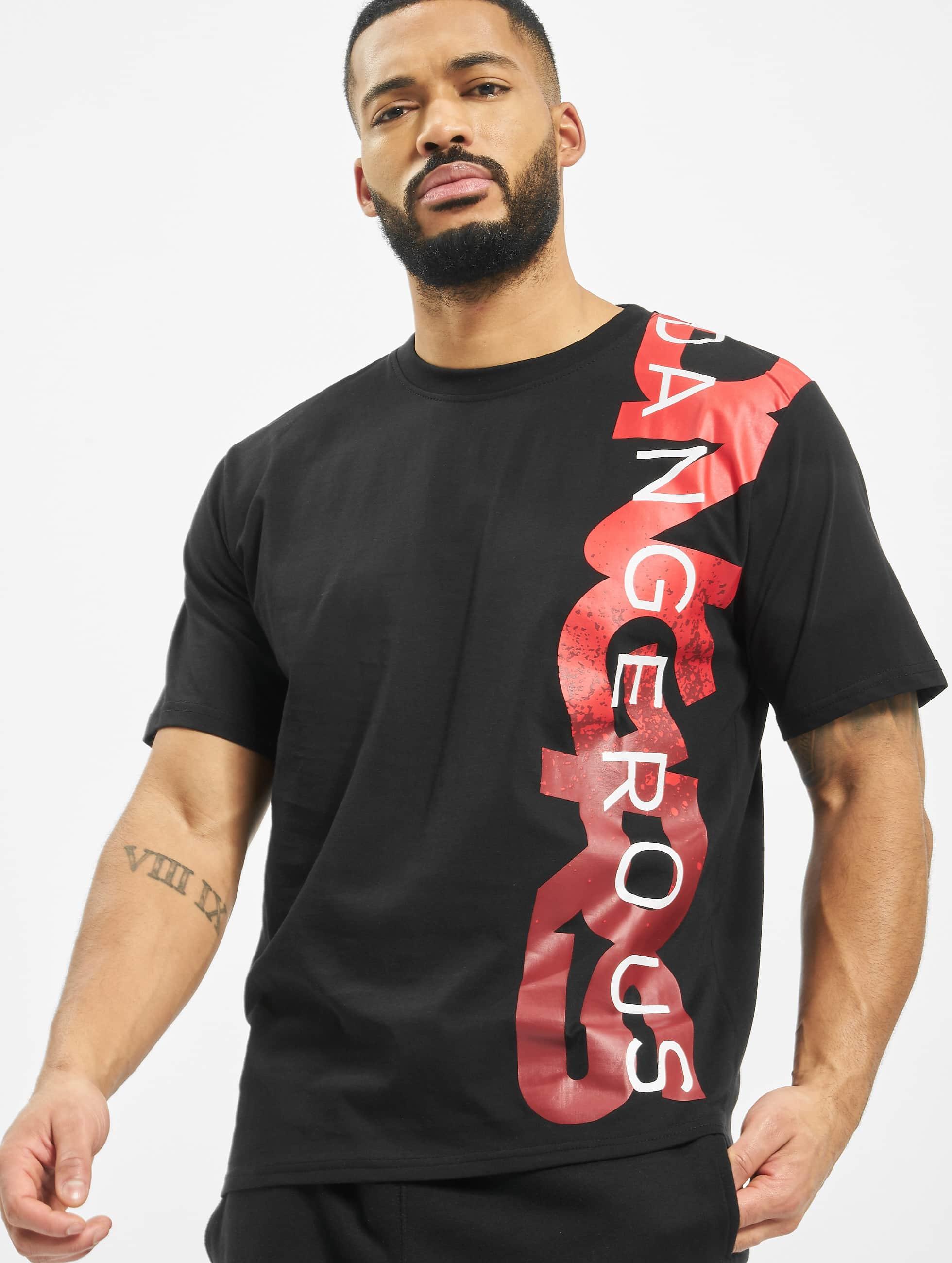 Dangerous DNGRS / T-Shirt Hyena in black XL