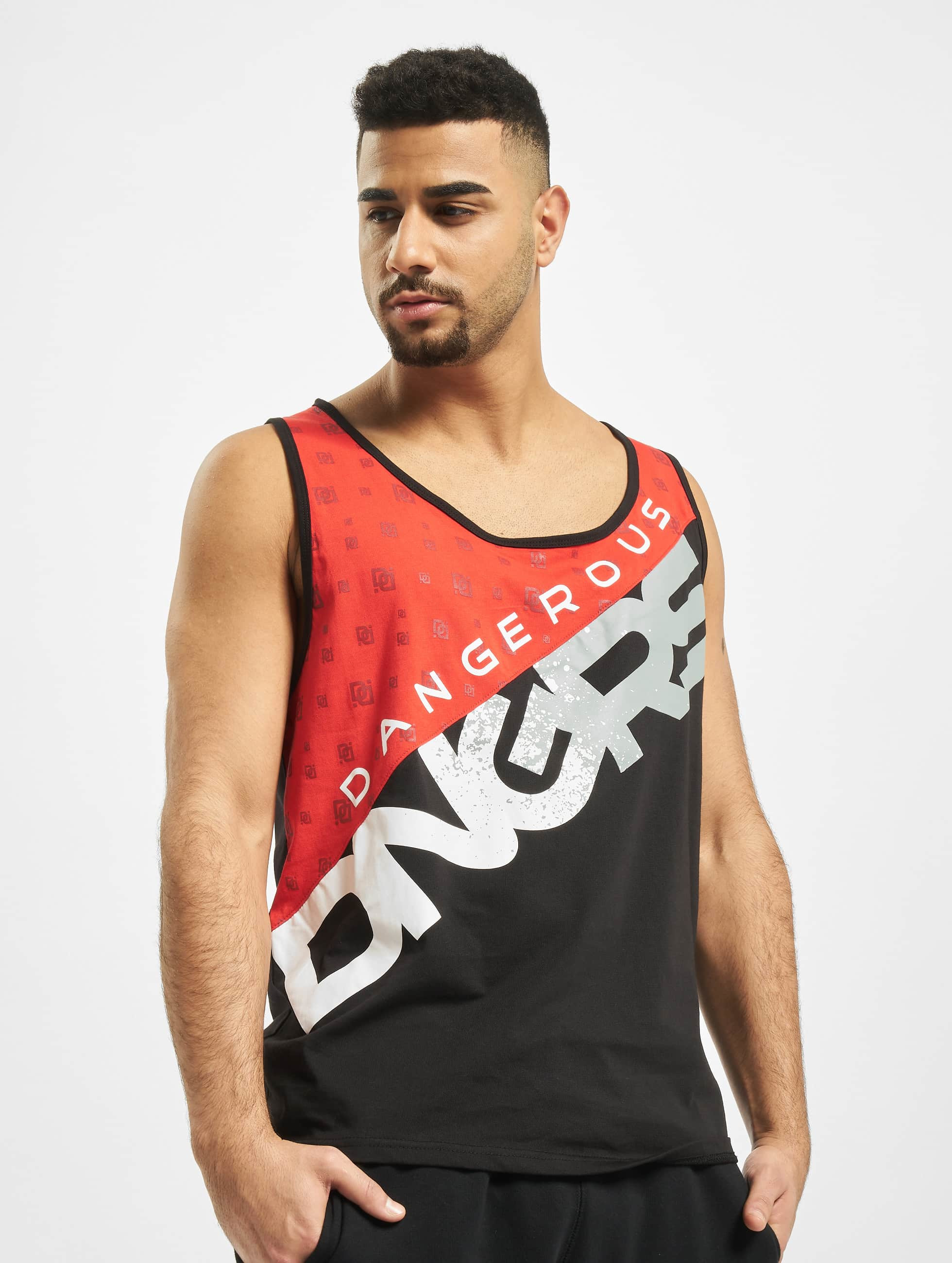 Dangerous DNGRS / Tank Tops Proteles in black 3XL
