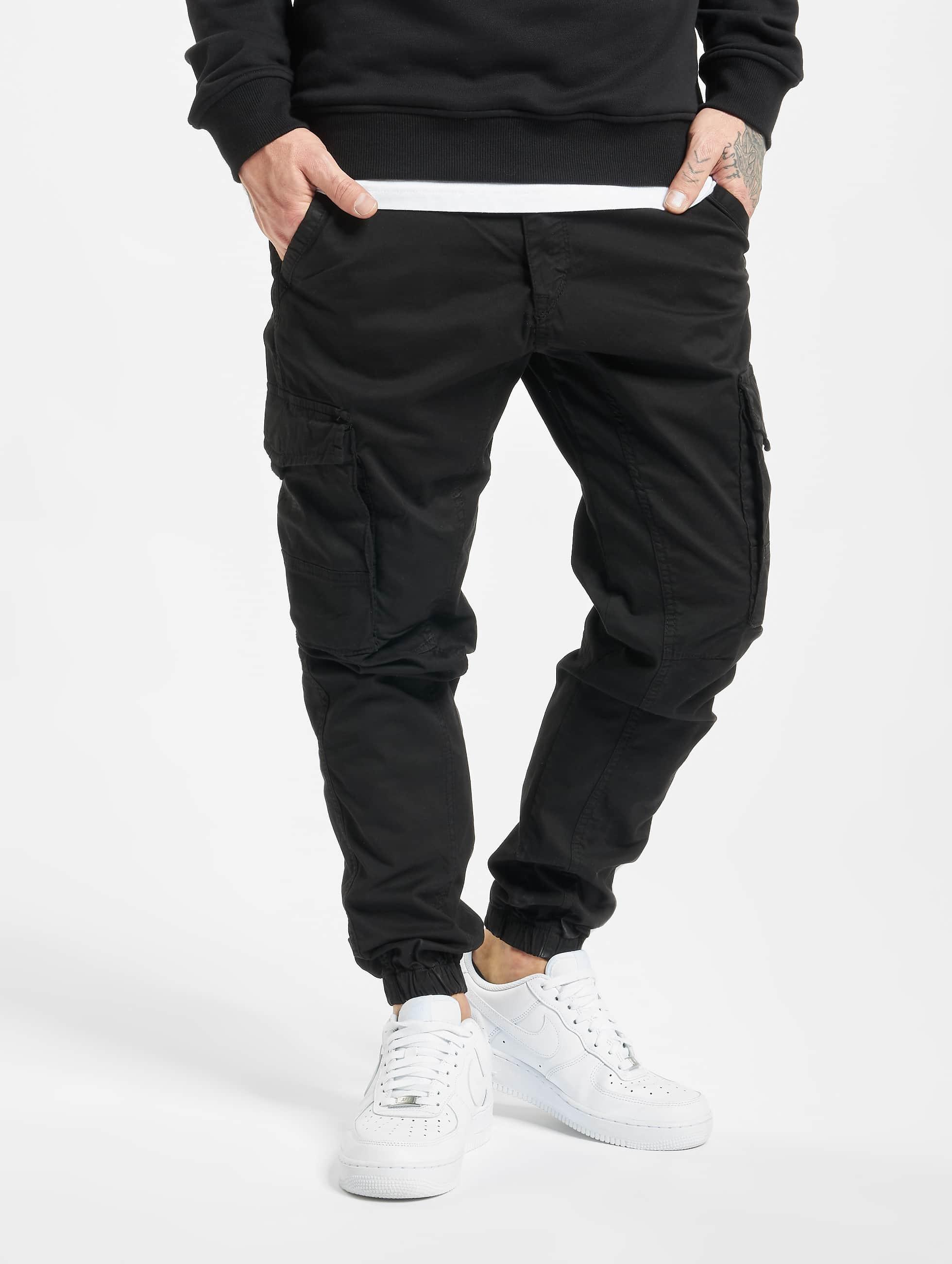 DEF / Slim Fit Jeans Pete in black W 33 L 34