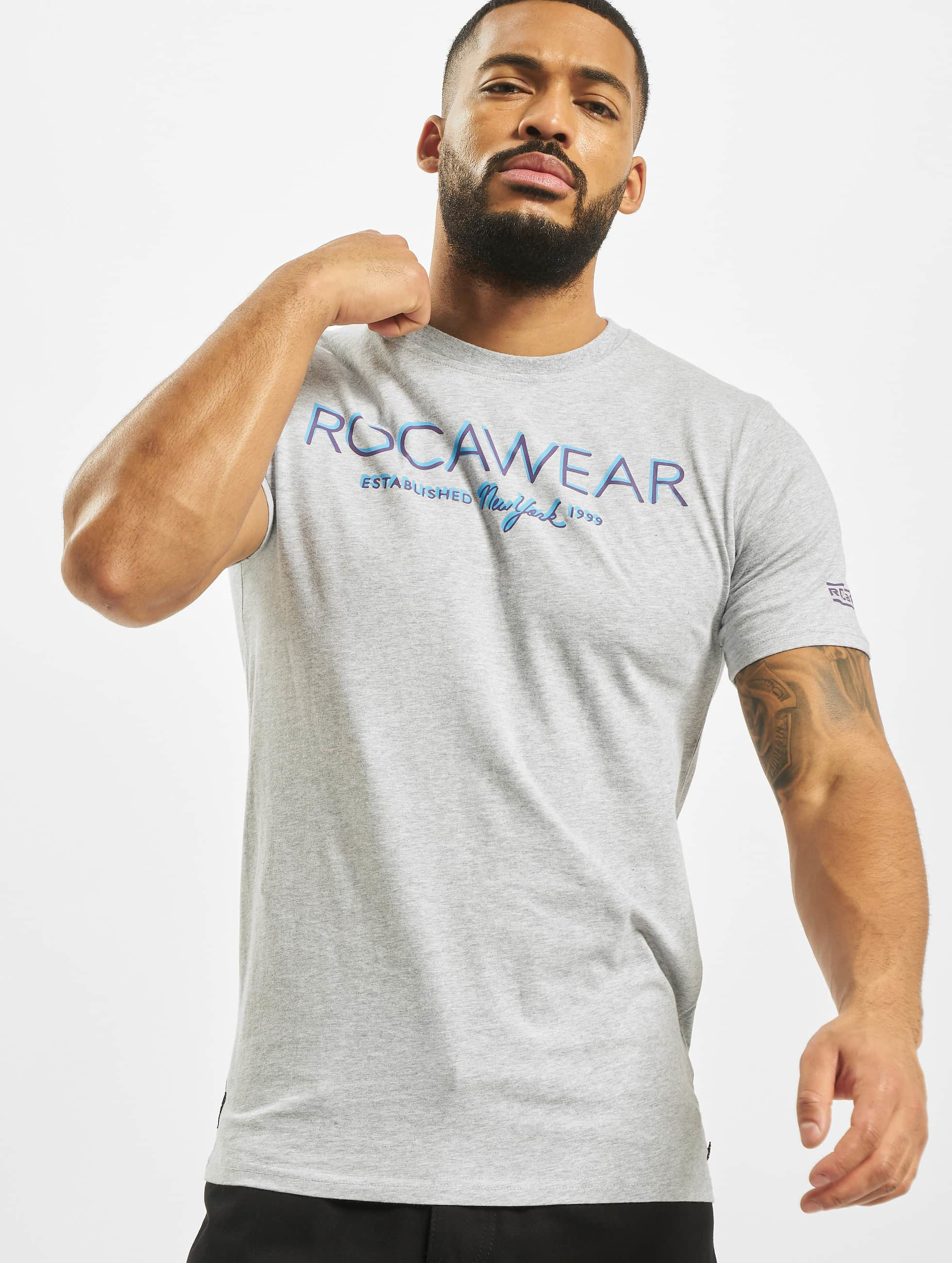 Rocawear / T-Shirt Neon in grey L