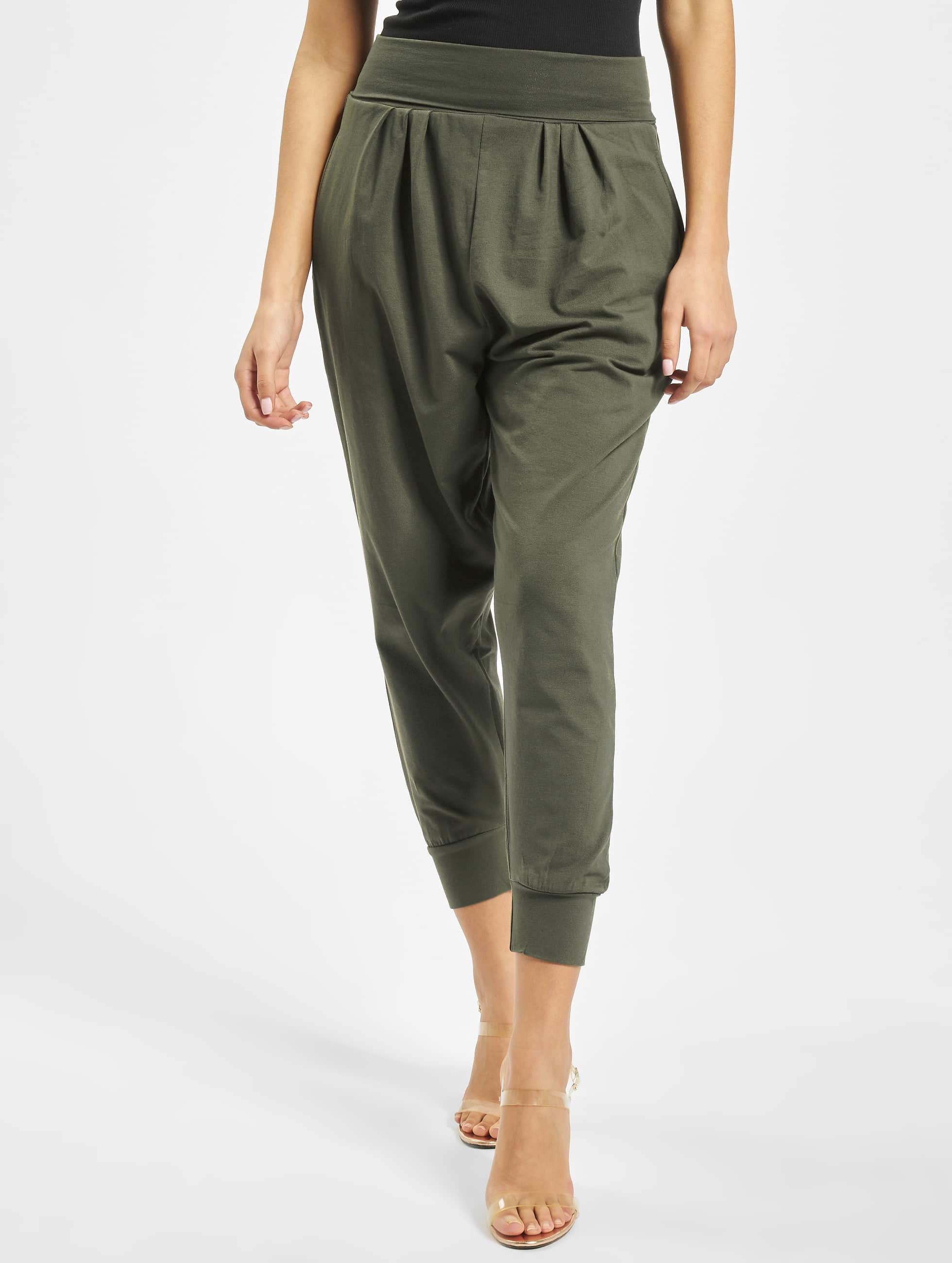 DEF / Sweat Pant Saruel in olive XL