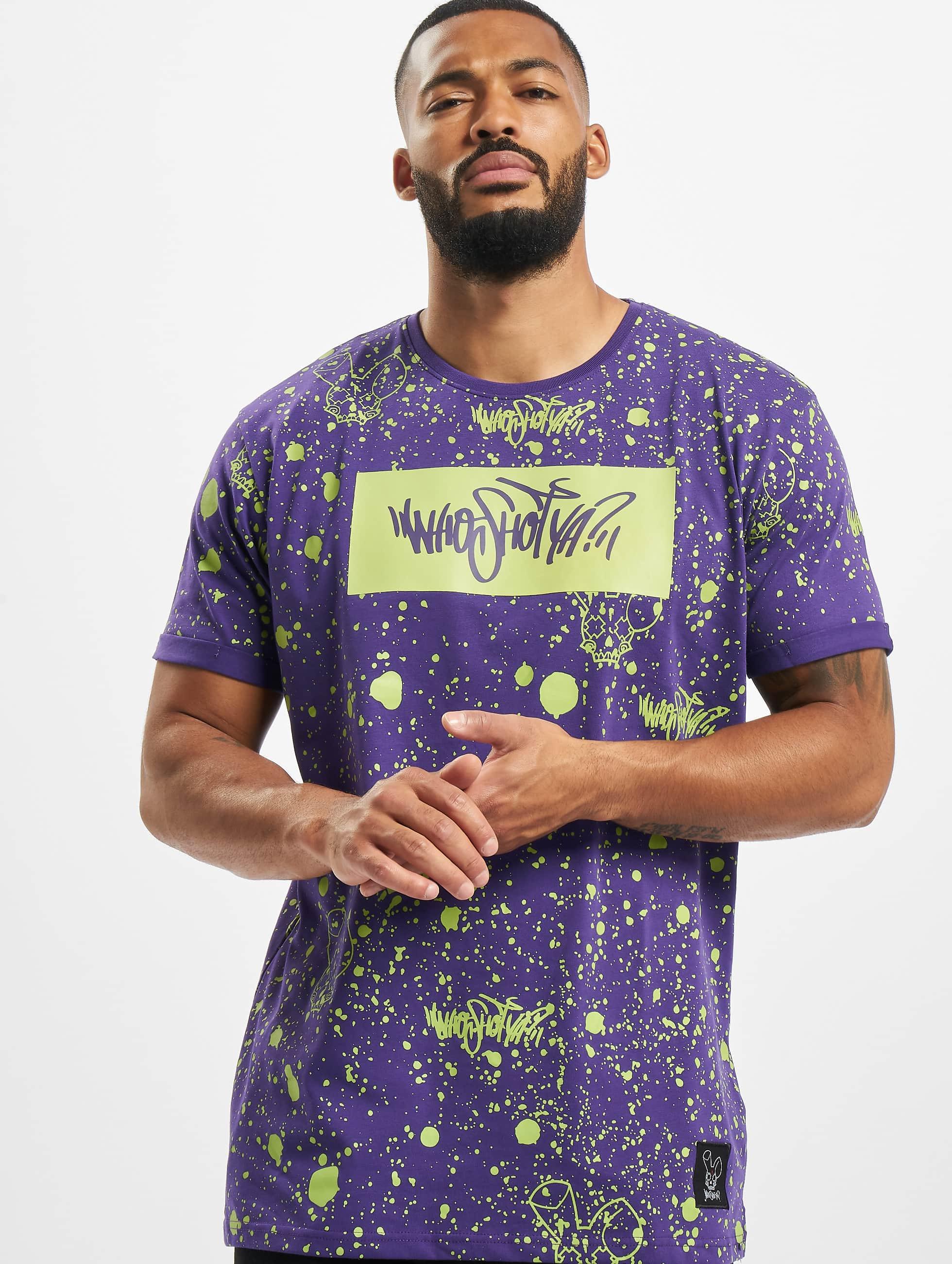 Who Shot Ya? / T-Shirt W Zone in purple 3XL
