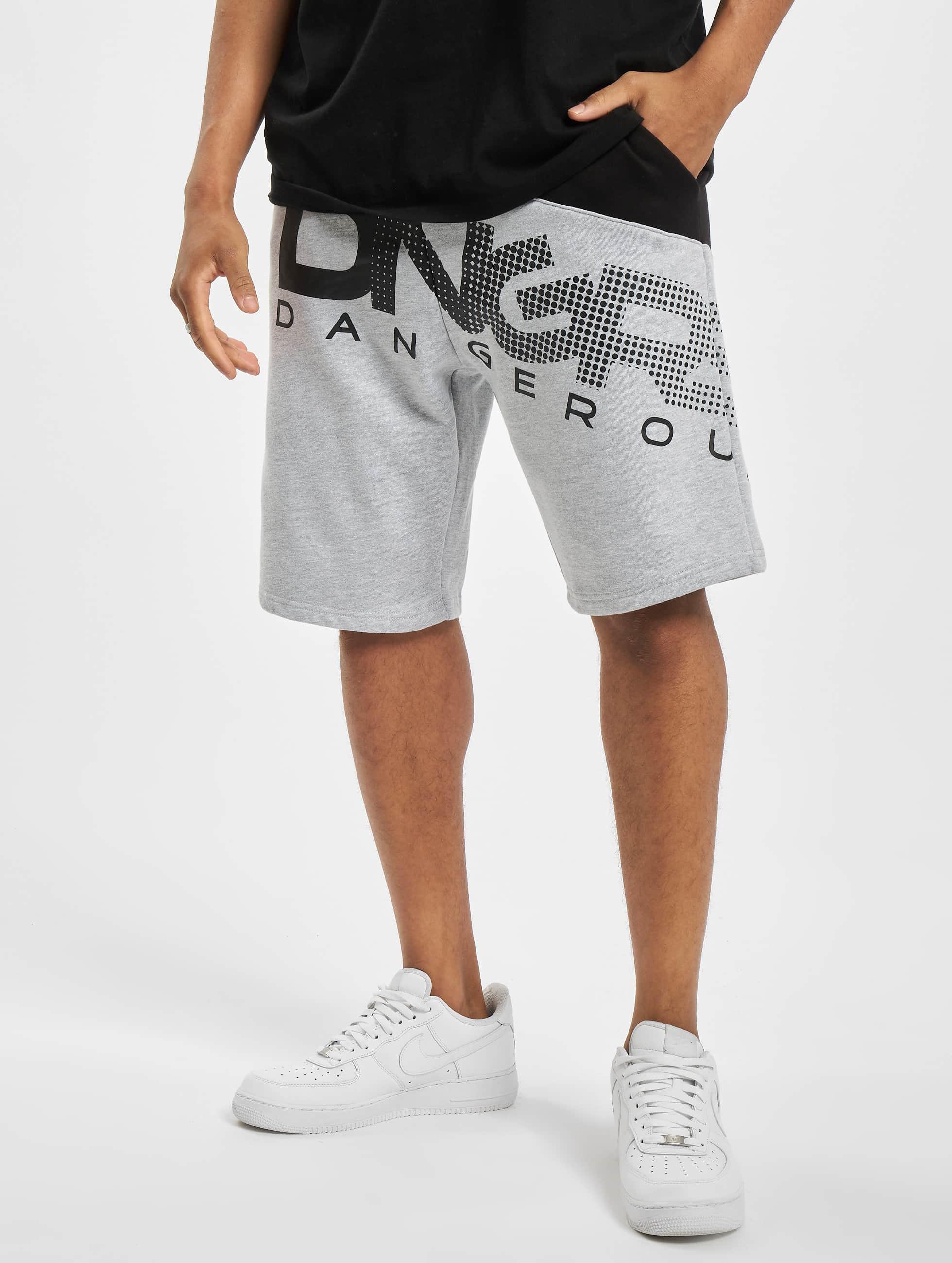 Dangerous DNGRS / Short Gino in grey 2XL