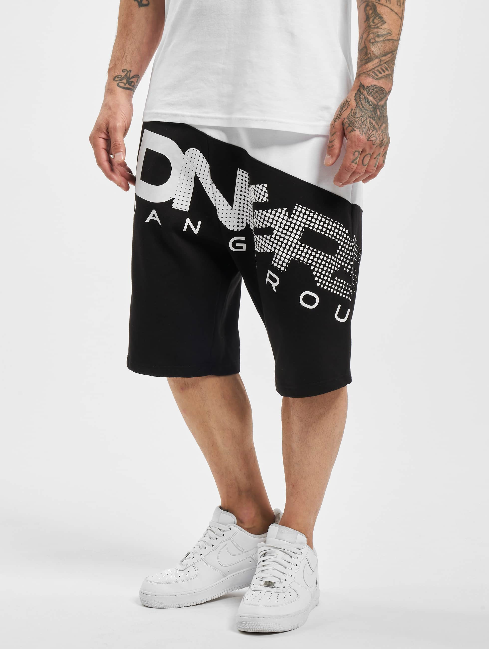 Dangerous DNGRS / Short Gino in black L