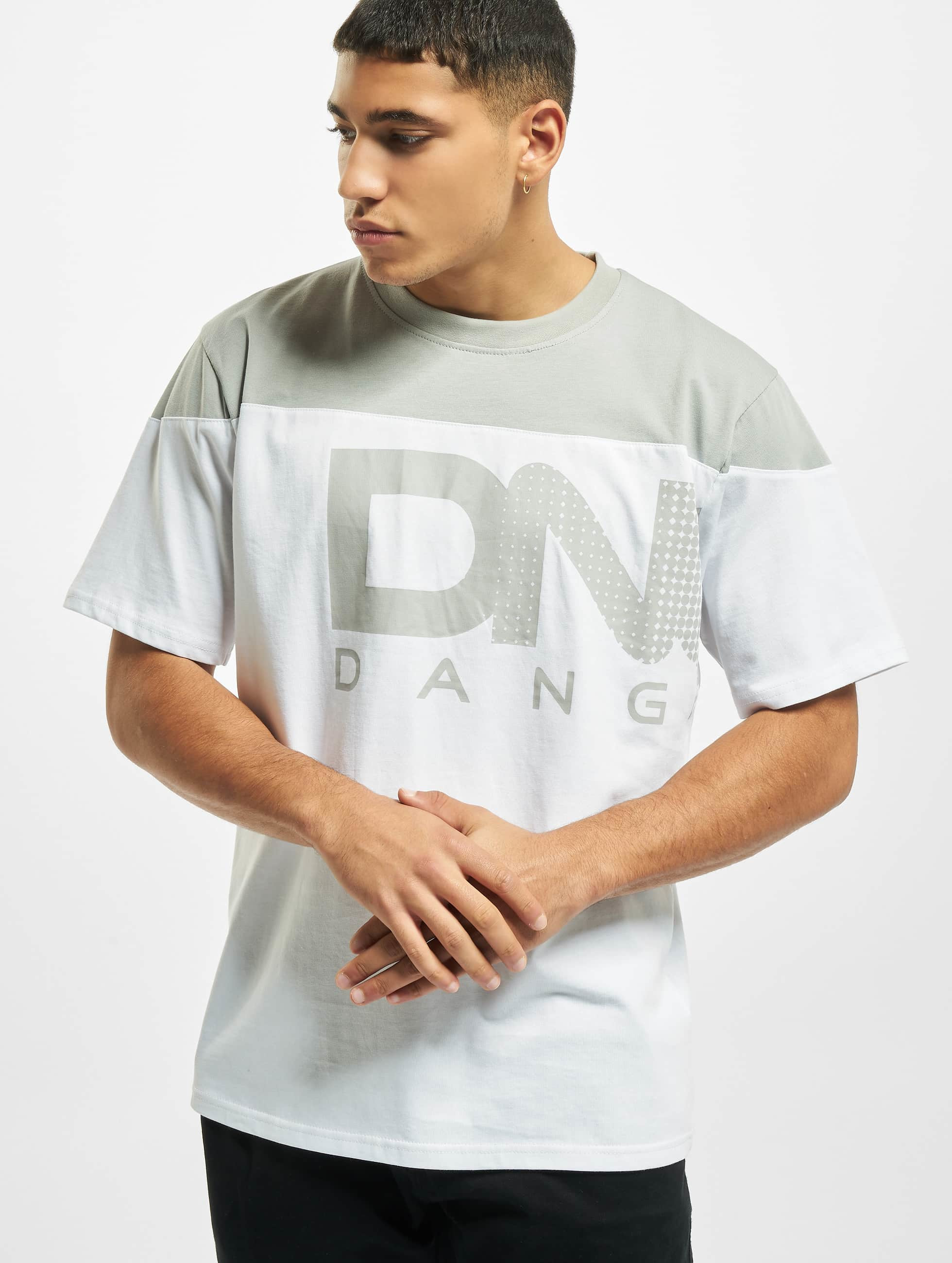 Dangerous DNGRS / T-Shirt Gino in white XL