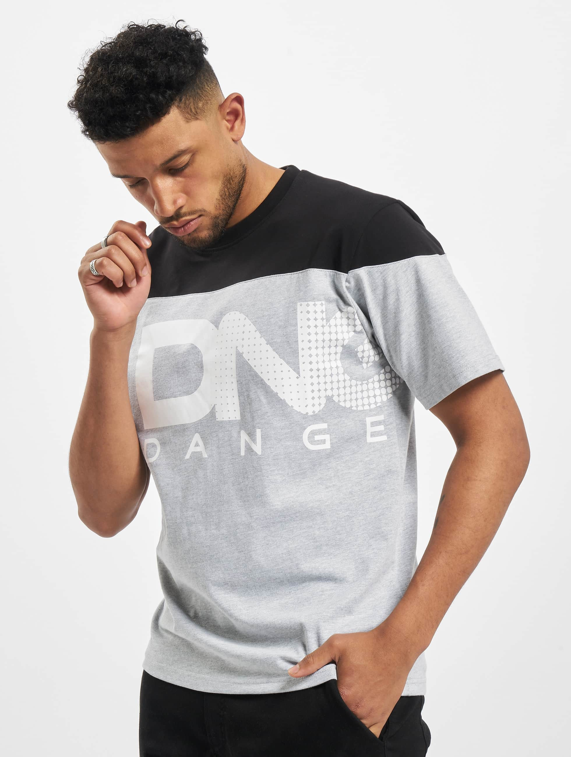 Dangerous DNGRS / T-Shirt Gino in grey S